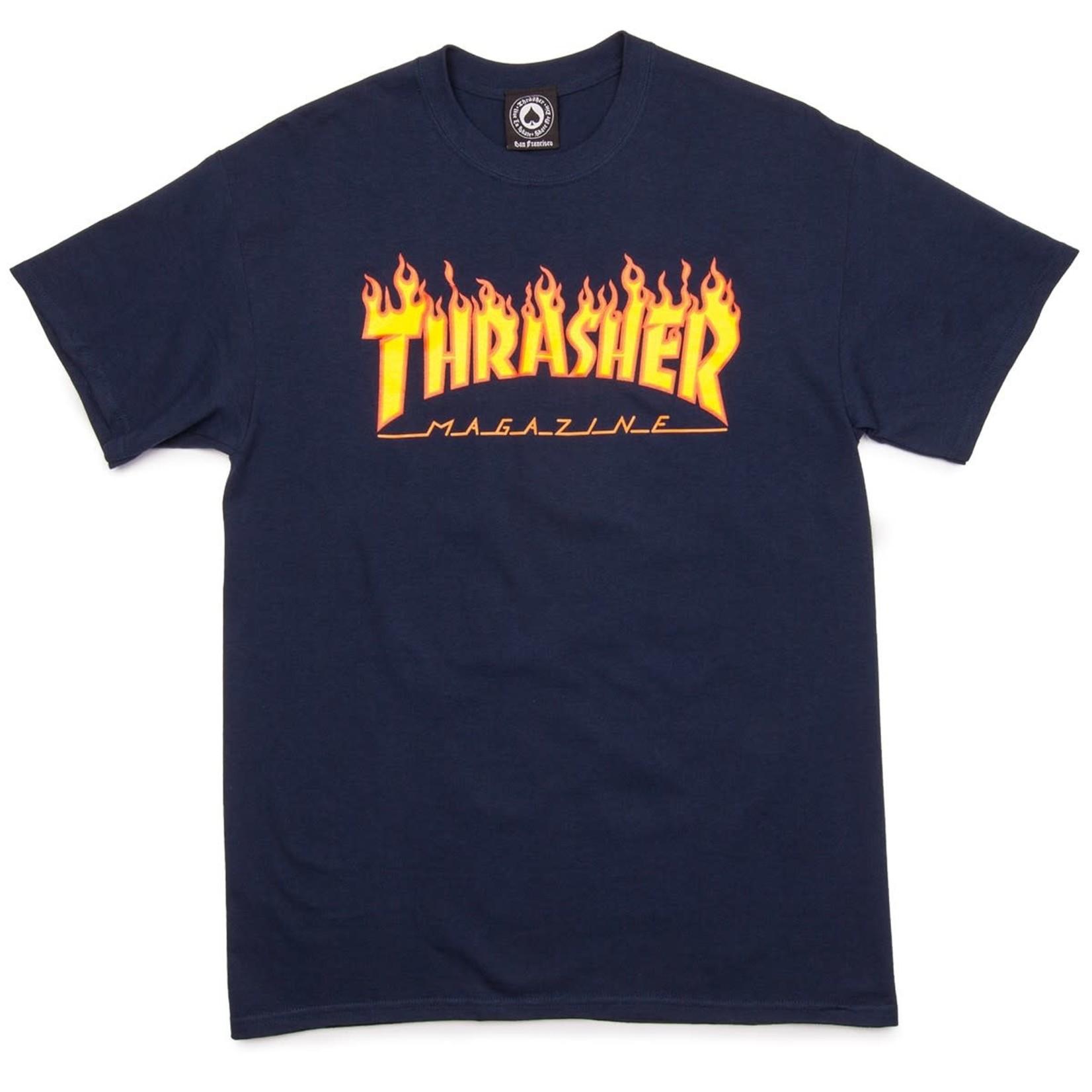 Thrasher Thrasher Flames Logo T-Shirt