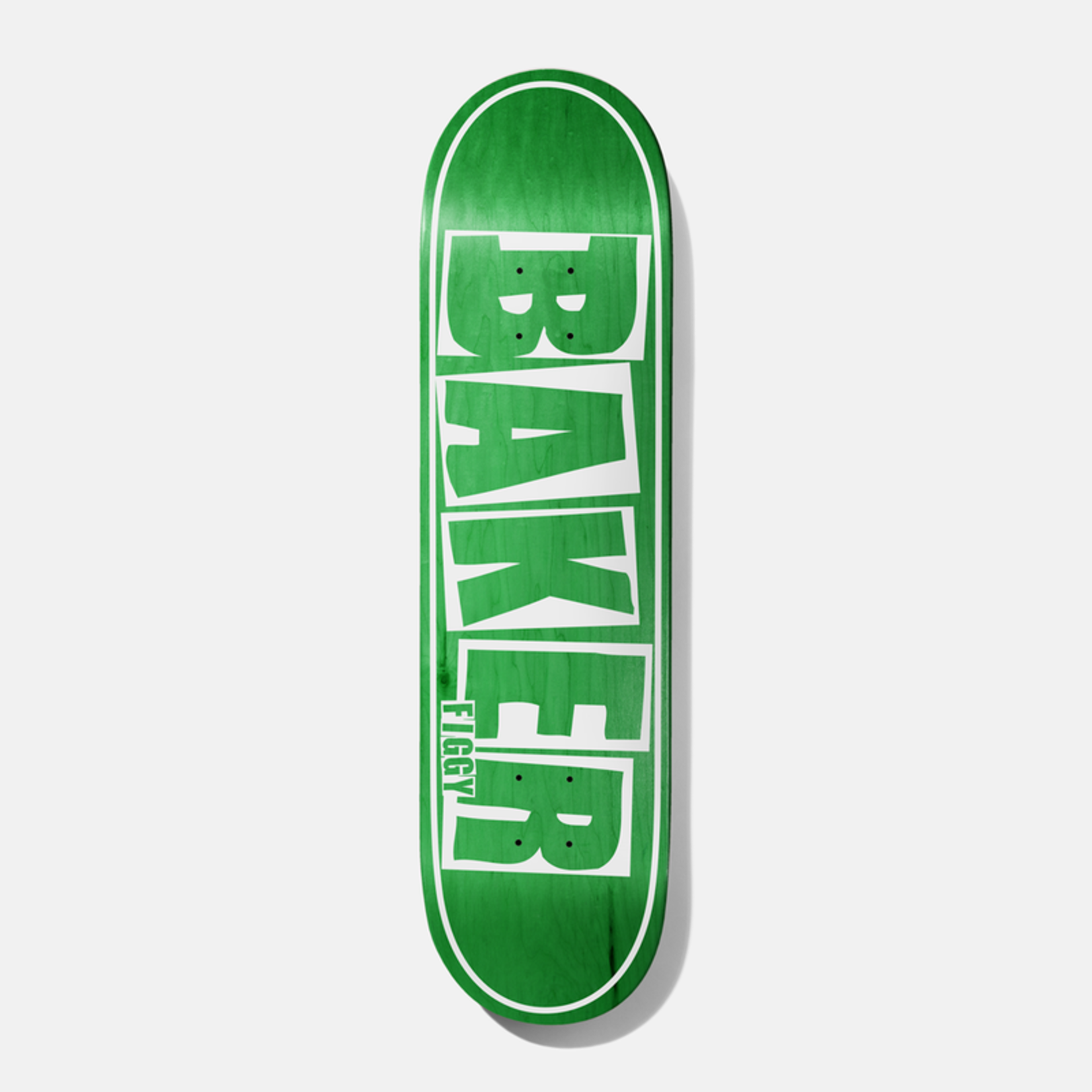 Baker Baker Figgy Brand Name Deck, Green, 8.25
