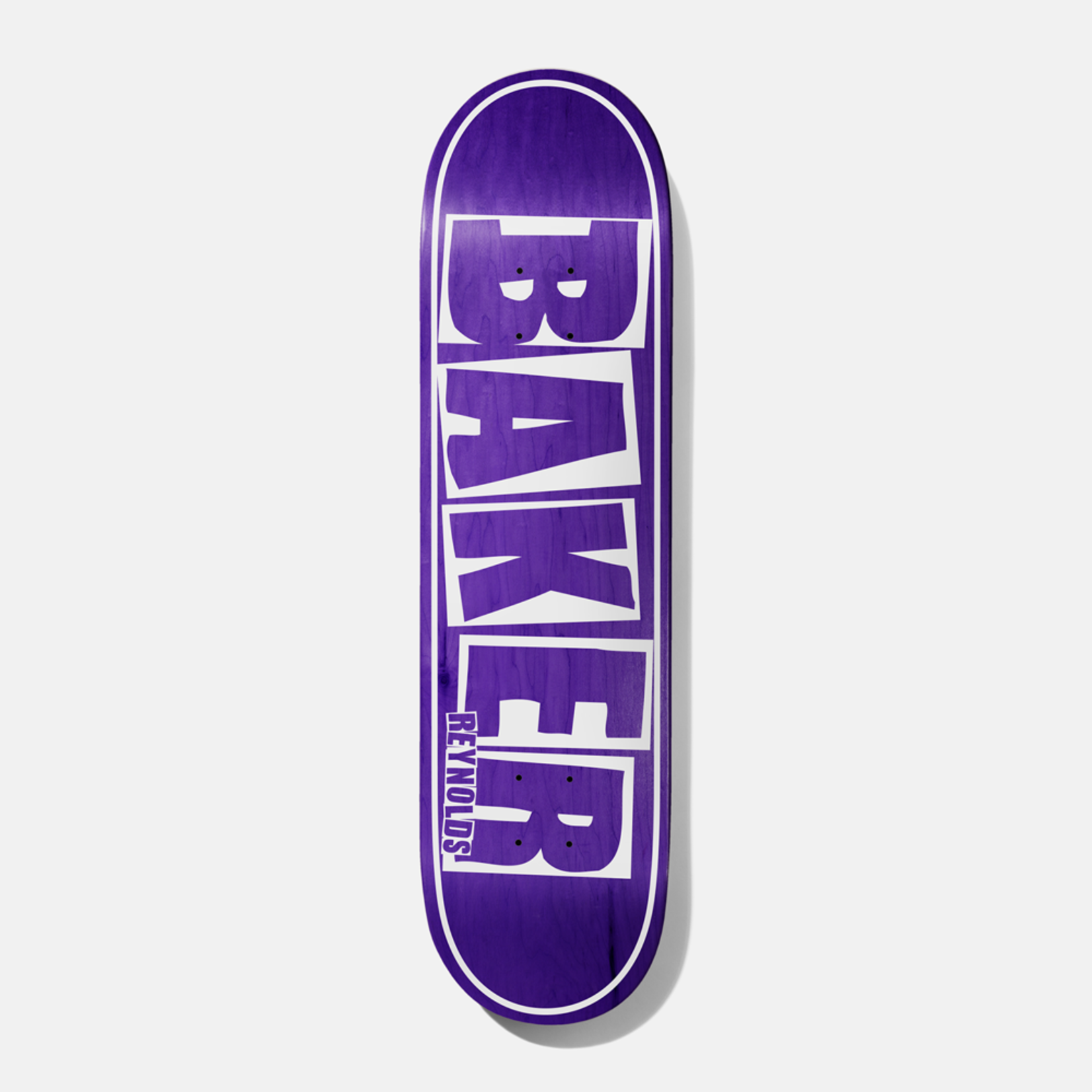 Baker Baker Reynolds Brand Name Deck, Purple, 8.12