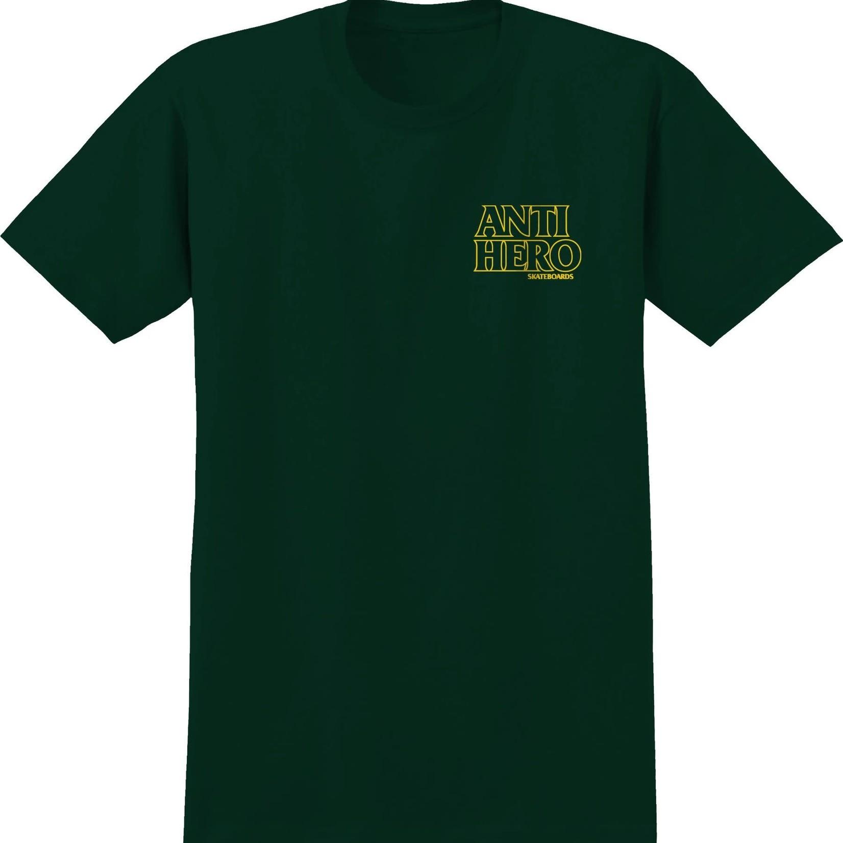 Anti Hero Anti-Hero Lil Black Hero T-Shirt