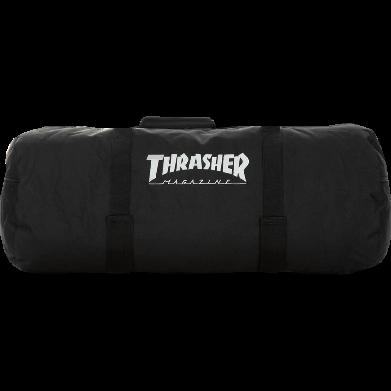 Thrasher Logo Duffel Bag, Black,