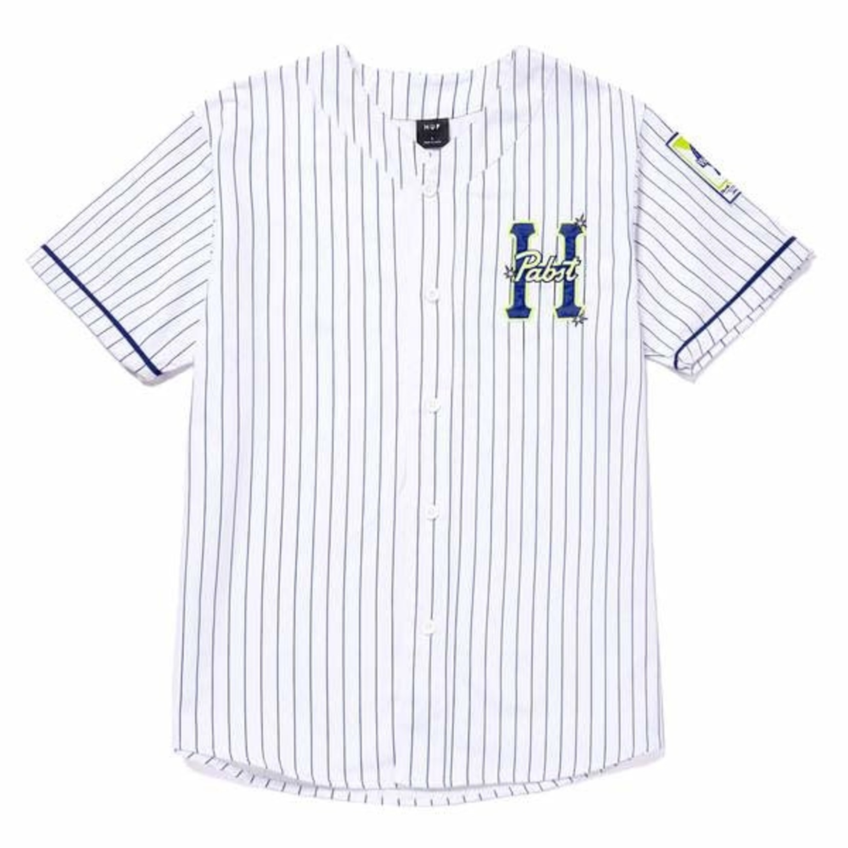 Huf Huf x Pabst Twill Baseball Jersey
