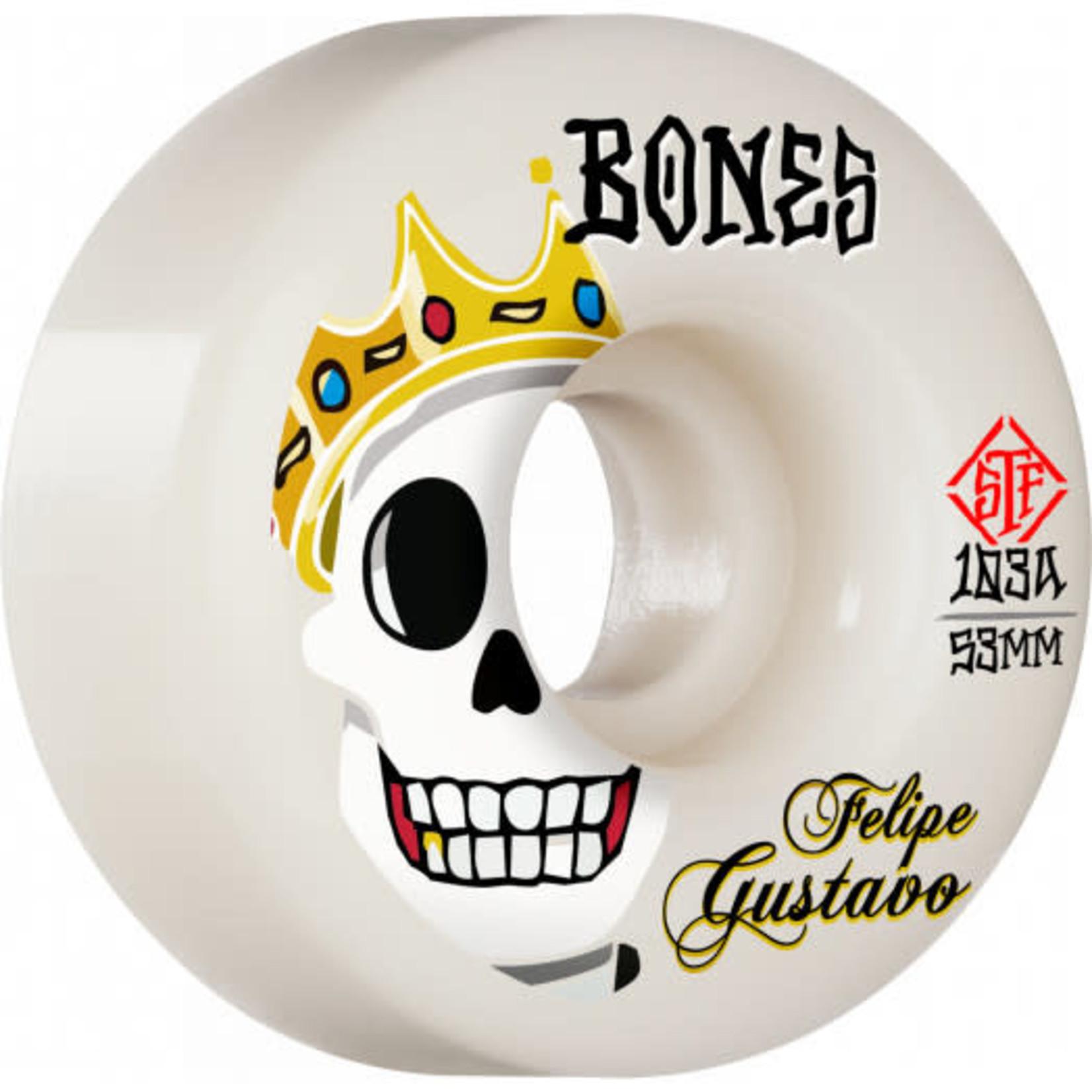 Bones Bones STF V1 Gustavo Standard Wheels