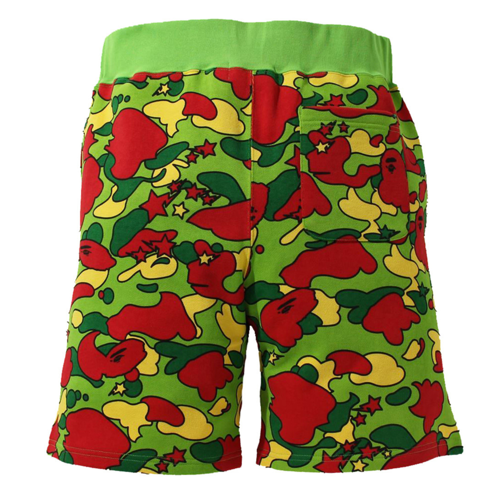 Bape Bape Sta Camo Sweat Shorts