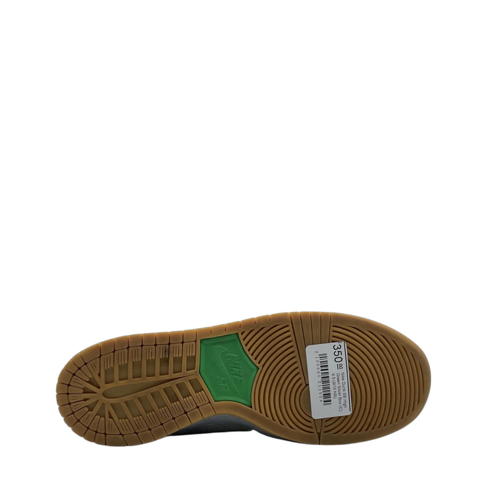 Nike Nike Dunk SB High Green Silver Box (C)