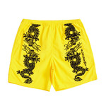 Supreme Supreme Dragon Water Short Yellow