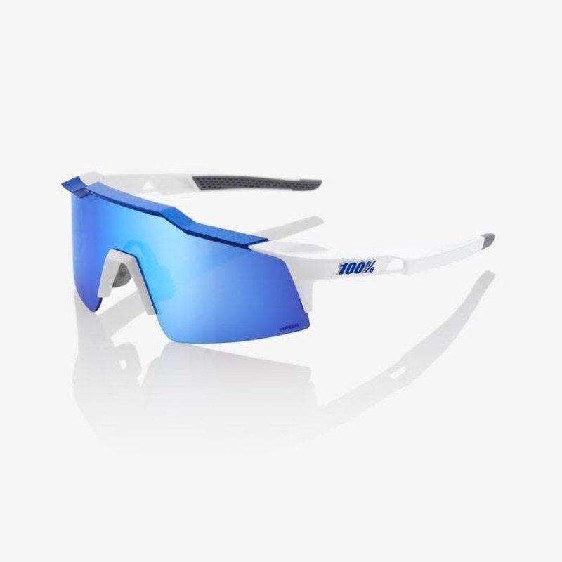 100% 100% Speedcraft White/Hiper Bl Mirror