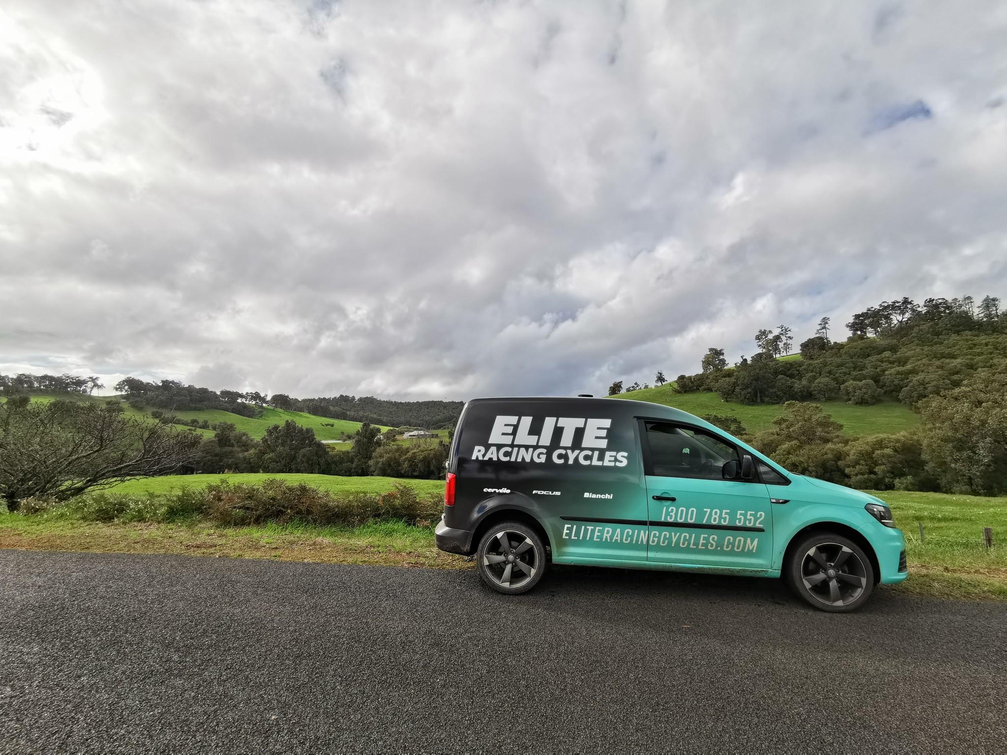 Elite Racing Cycles Van
