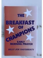 The Breakfast Of Champions - DAUGHERTY, BILLY JOE