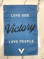 VICTORY FLAG - Blue
