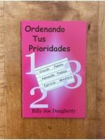 Ordenando Tus Prioridades- Daugherty, Billy Joe