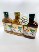 Kermit's Key Lime Hot Sauce Trio 7.5 oz ea
