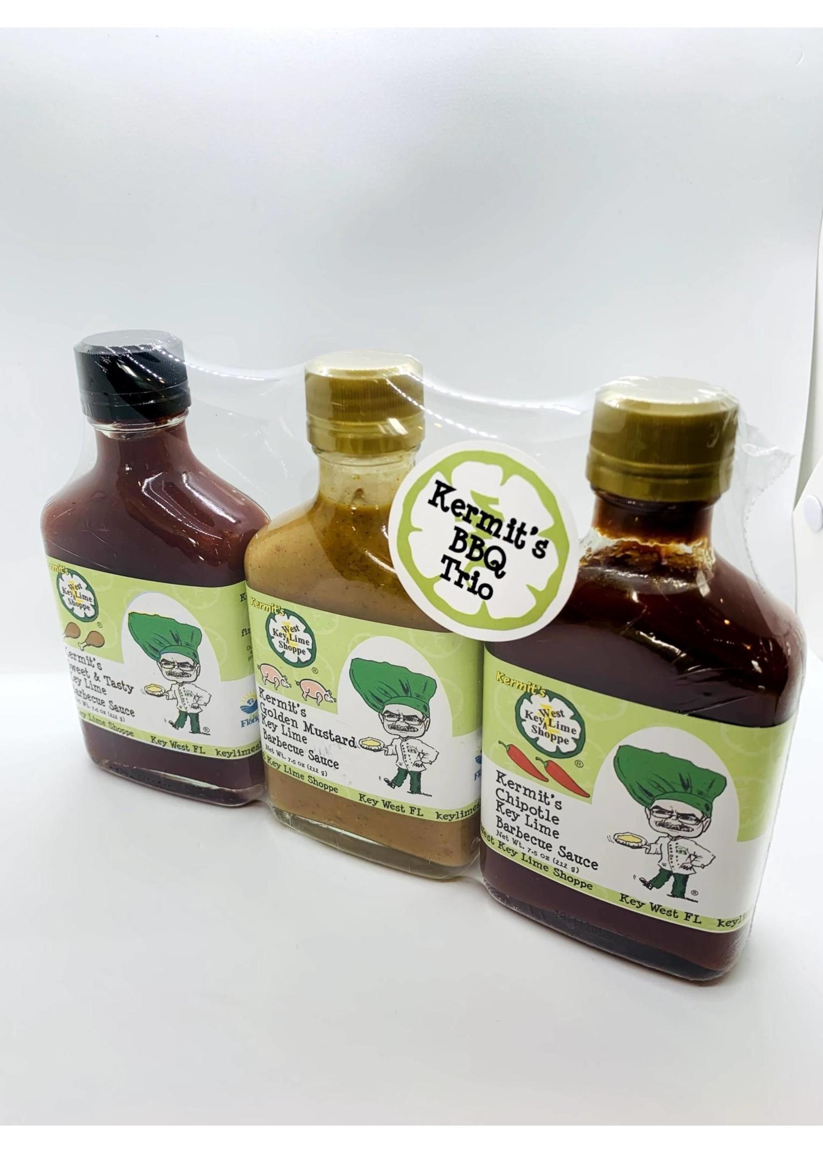 Kermit's Key Lime Barbecue Sauce Trio