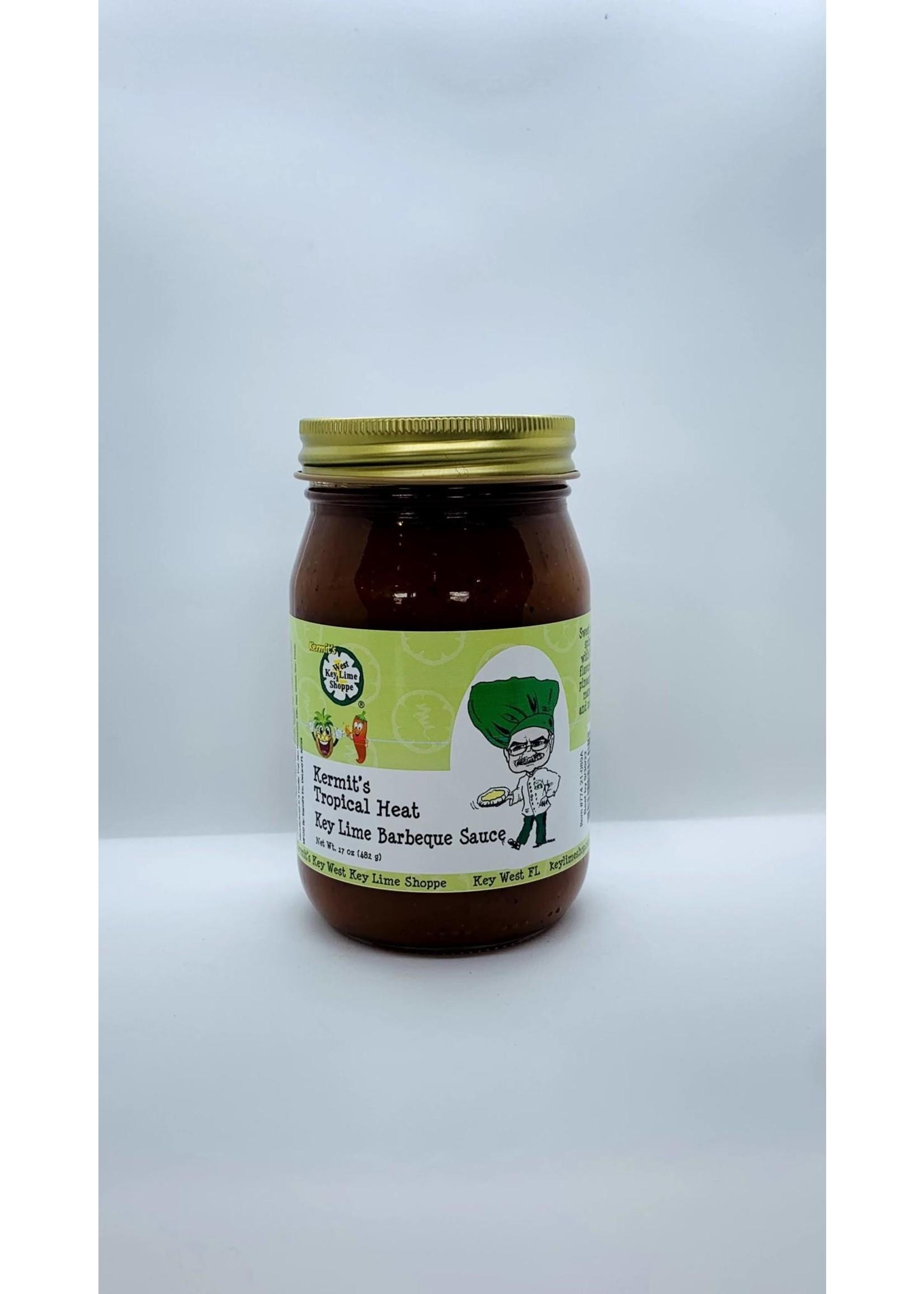 Kermit's Tropical Heat Key Lime Barbecue Sauce 17 oz.