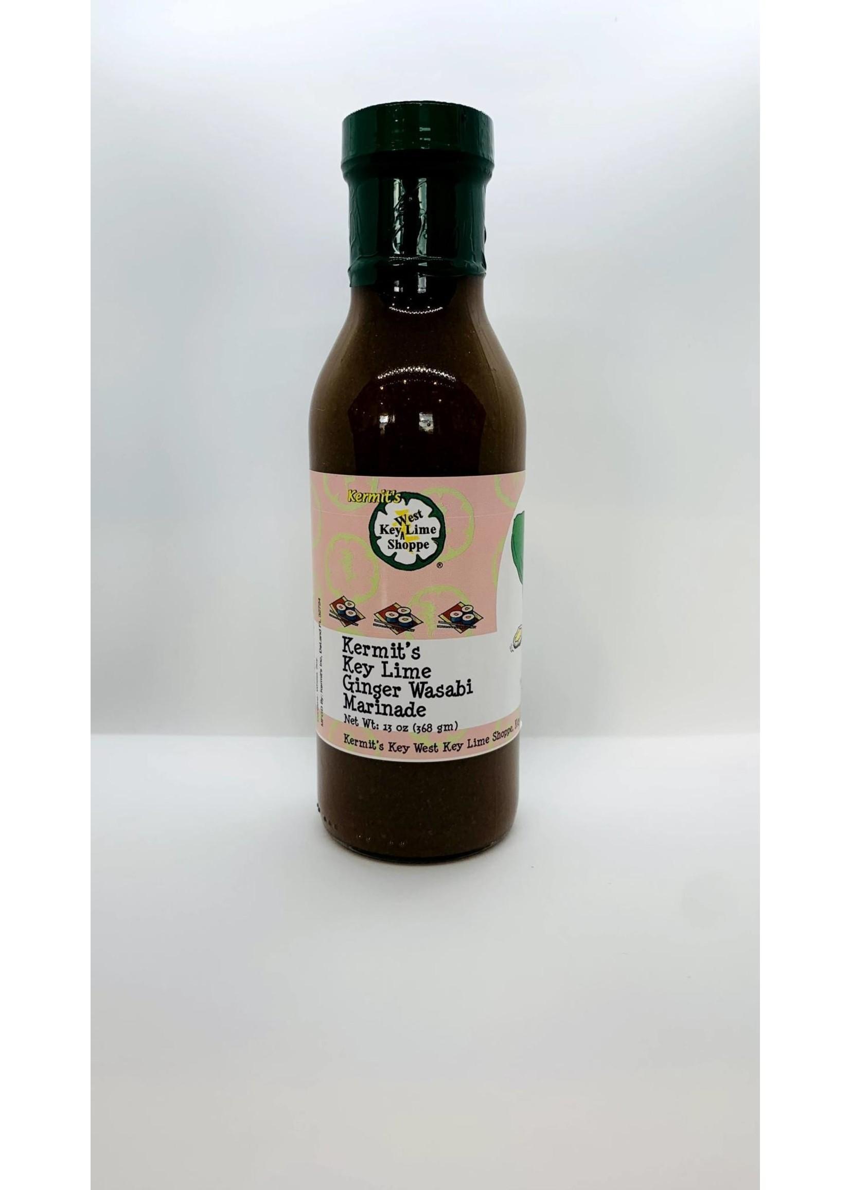 Kermit's Key Lime Ginger Wasabi Sauce 13 oz