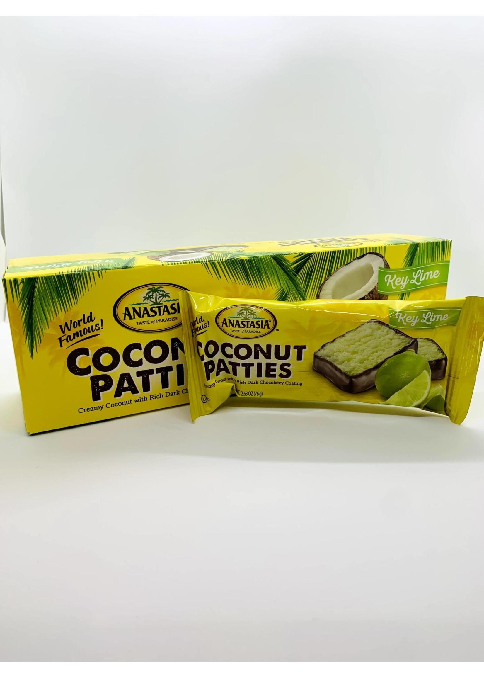 Key Lime Coconut Patties