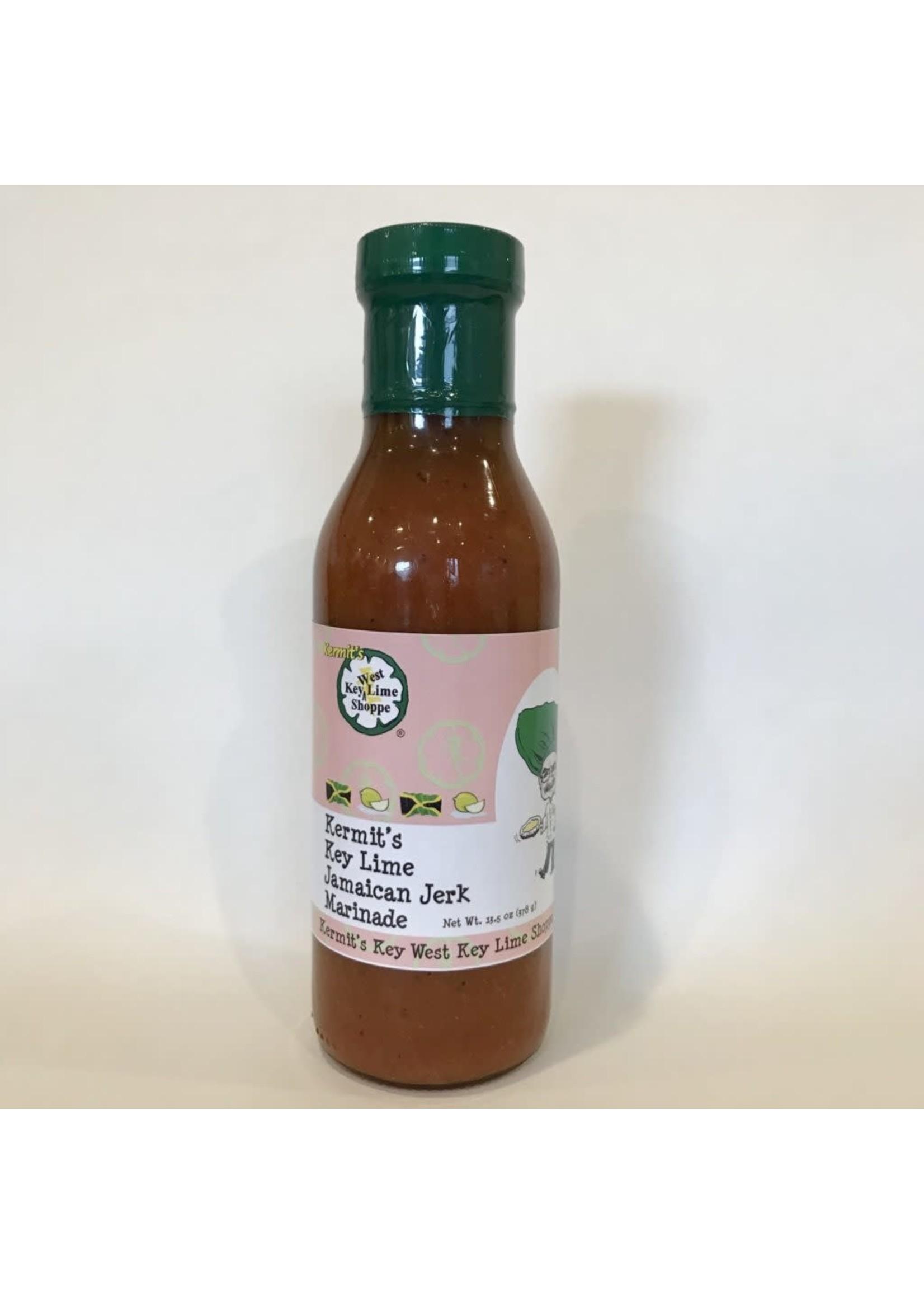 Kermit's Key Lime  Jamaican Jerk Marinade  13.5 oz