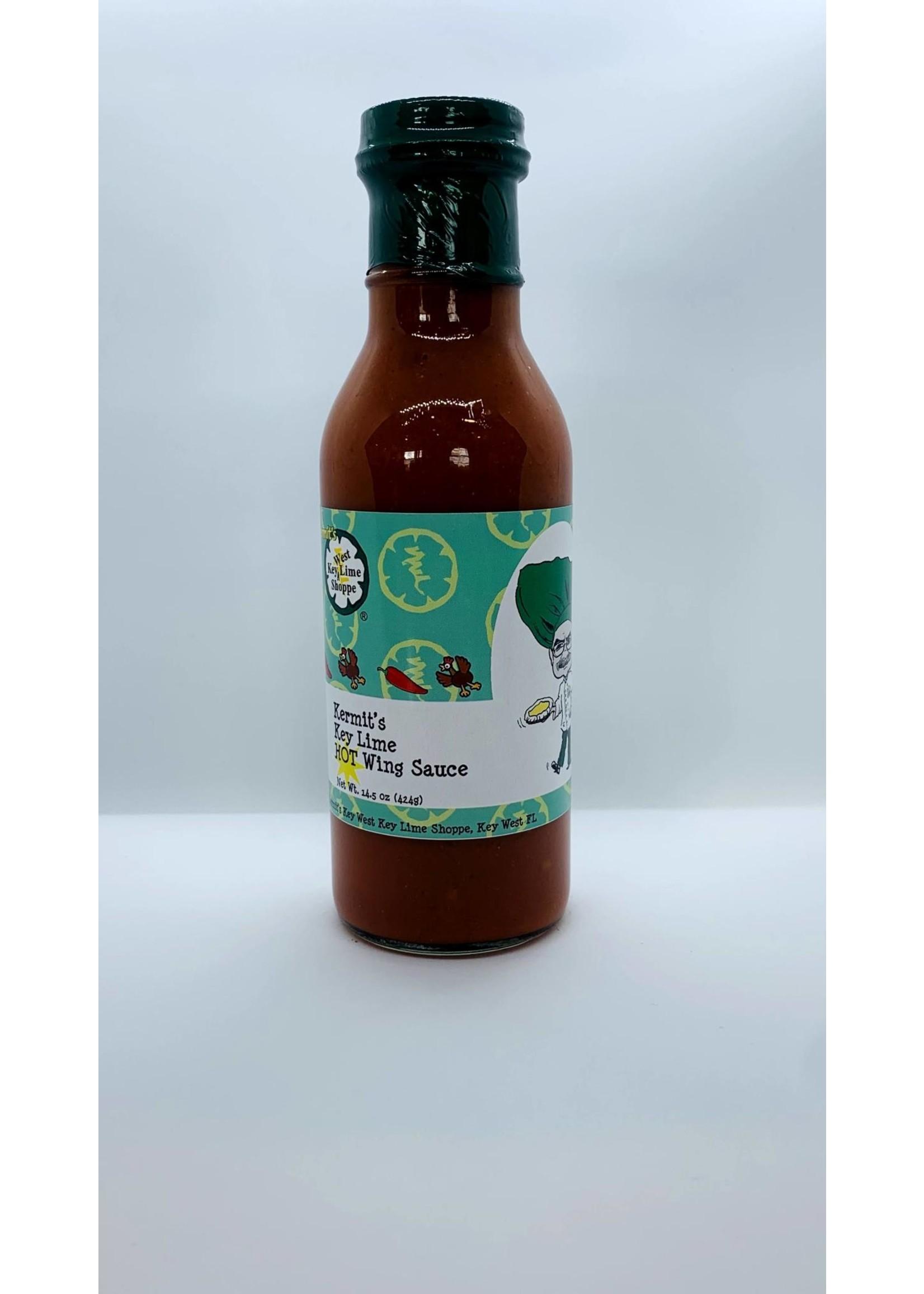 Kermit's Key Lime Hot Wing Sauce 14.5 oz