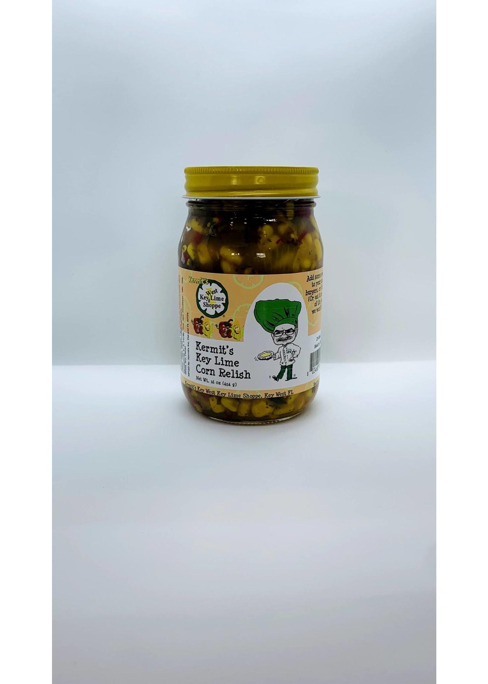 Kermit's Key Lime  Corn Relish - 16 oz