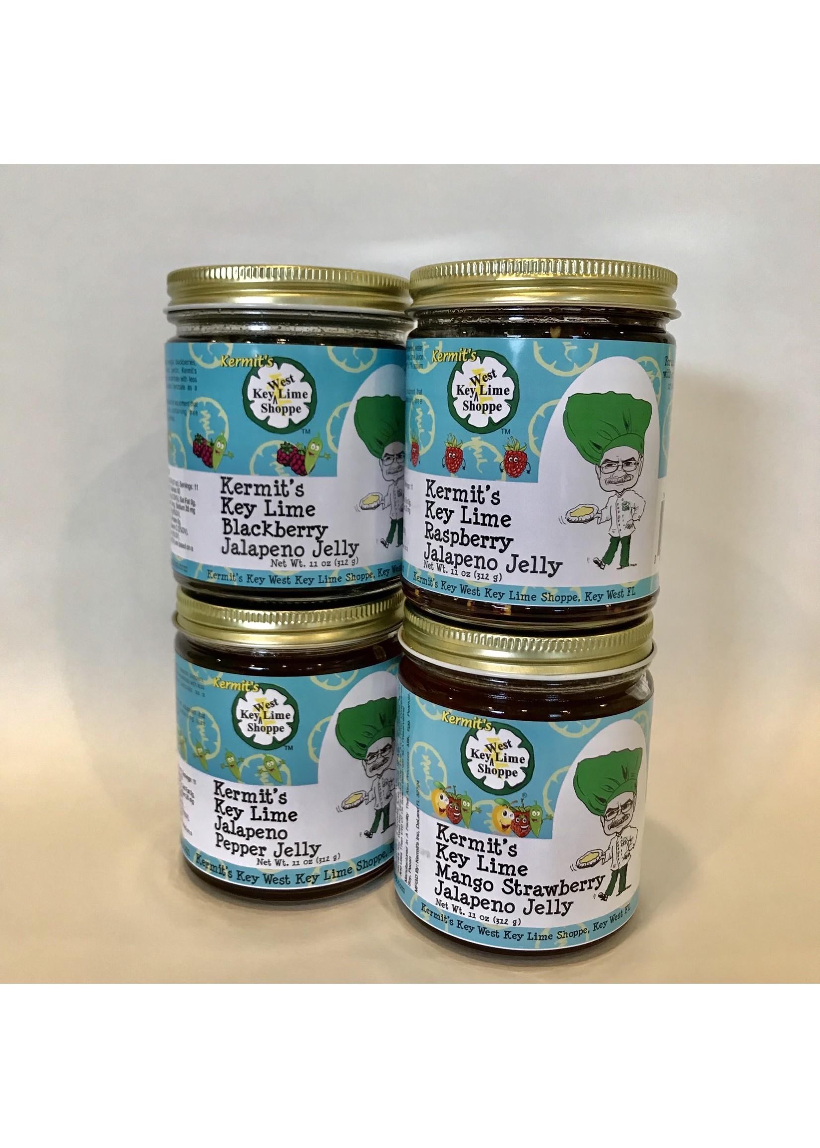 Kermit's Key Lime Jalapeno Pepper Jelly 11oz