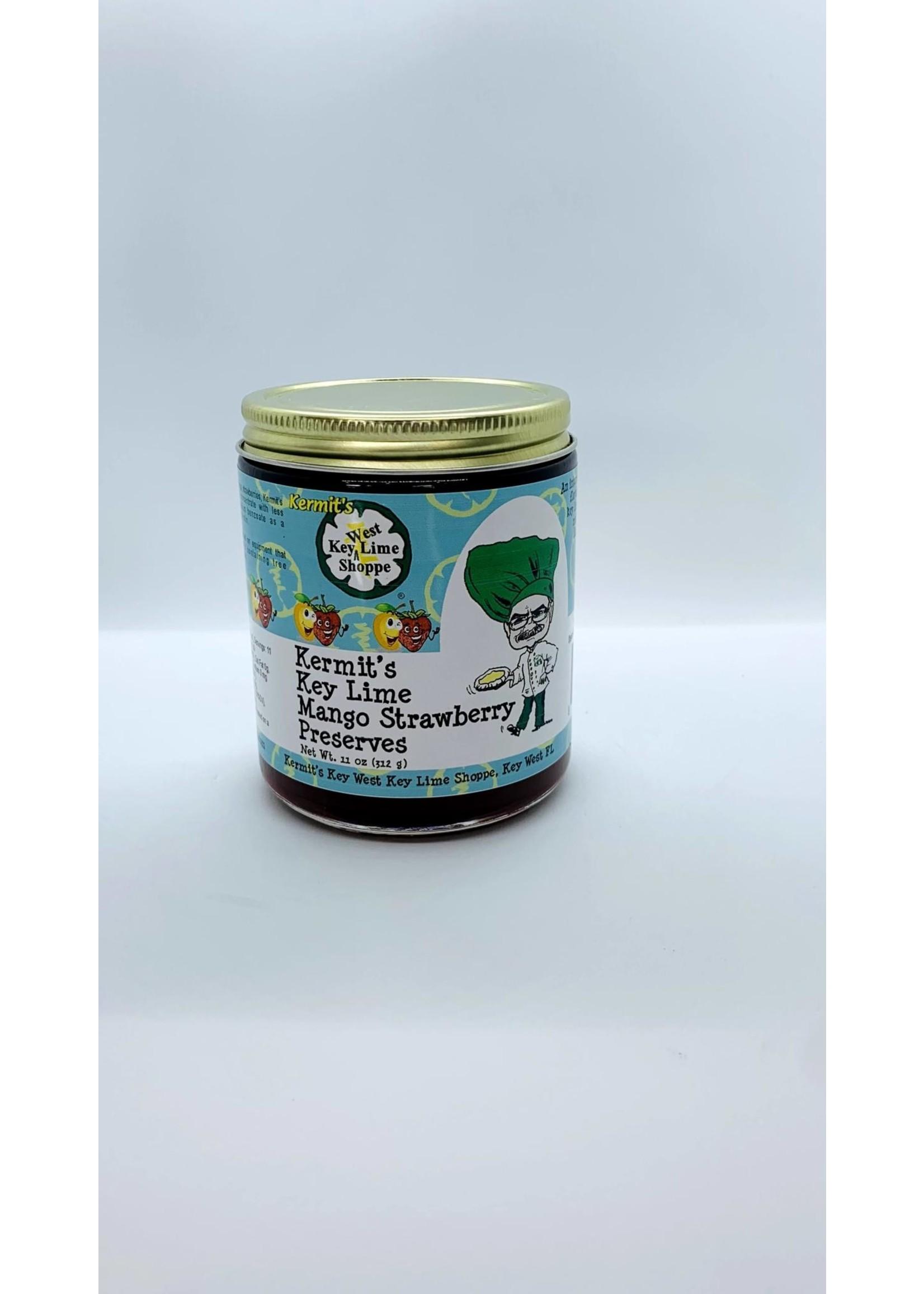 Kermit's Key Lime  Mango Strawberry Preserves-11 oz