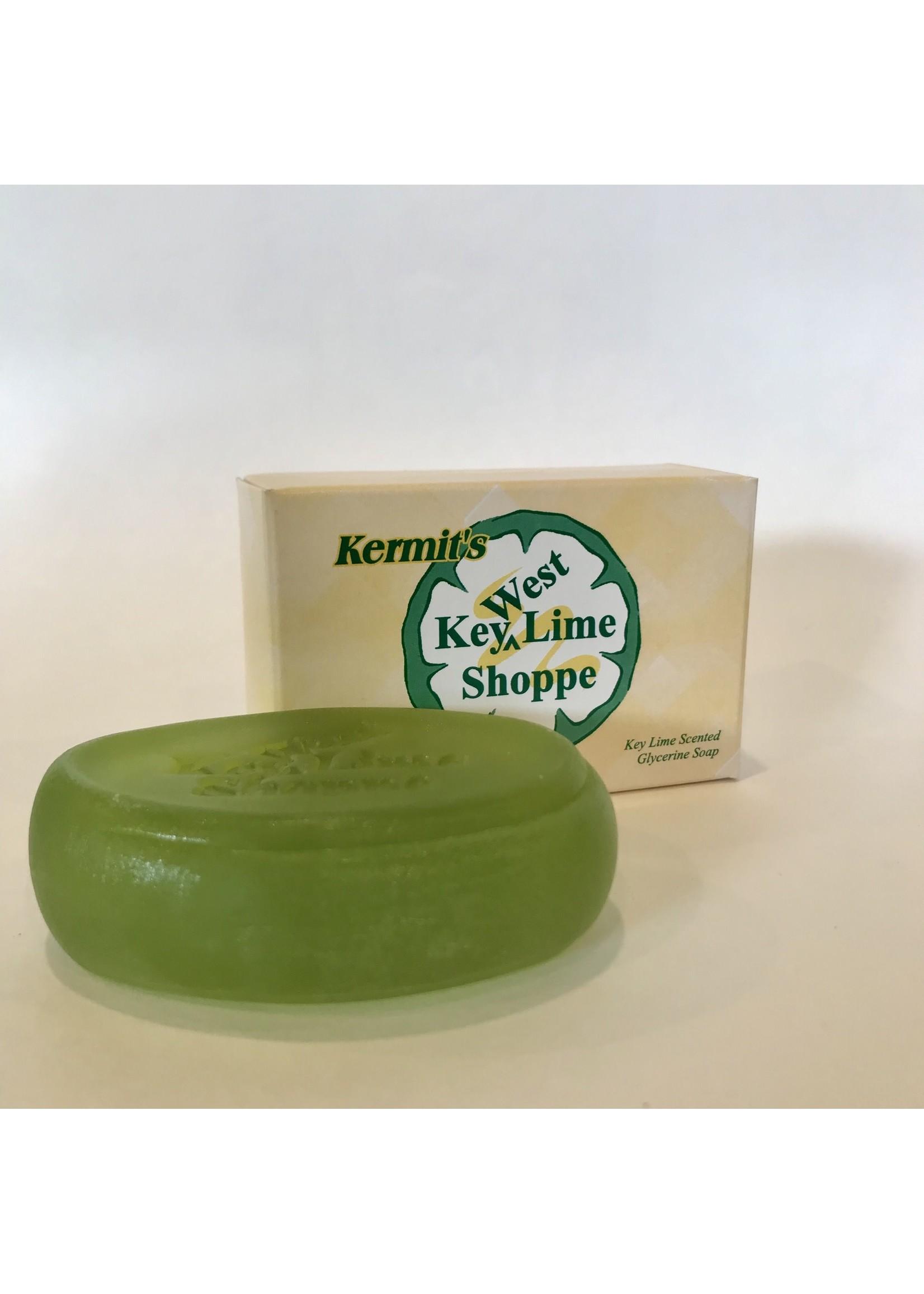 Kermit's Key Lime Glycerin Soap Bath Bar 3 oz.