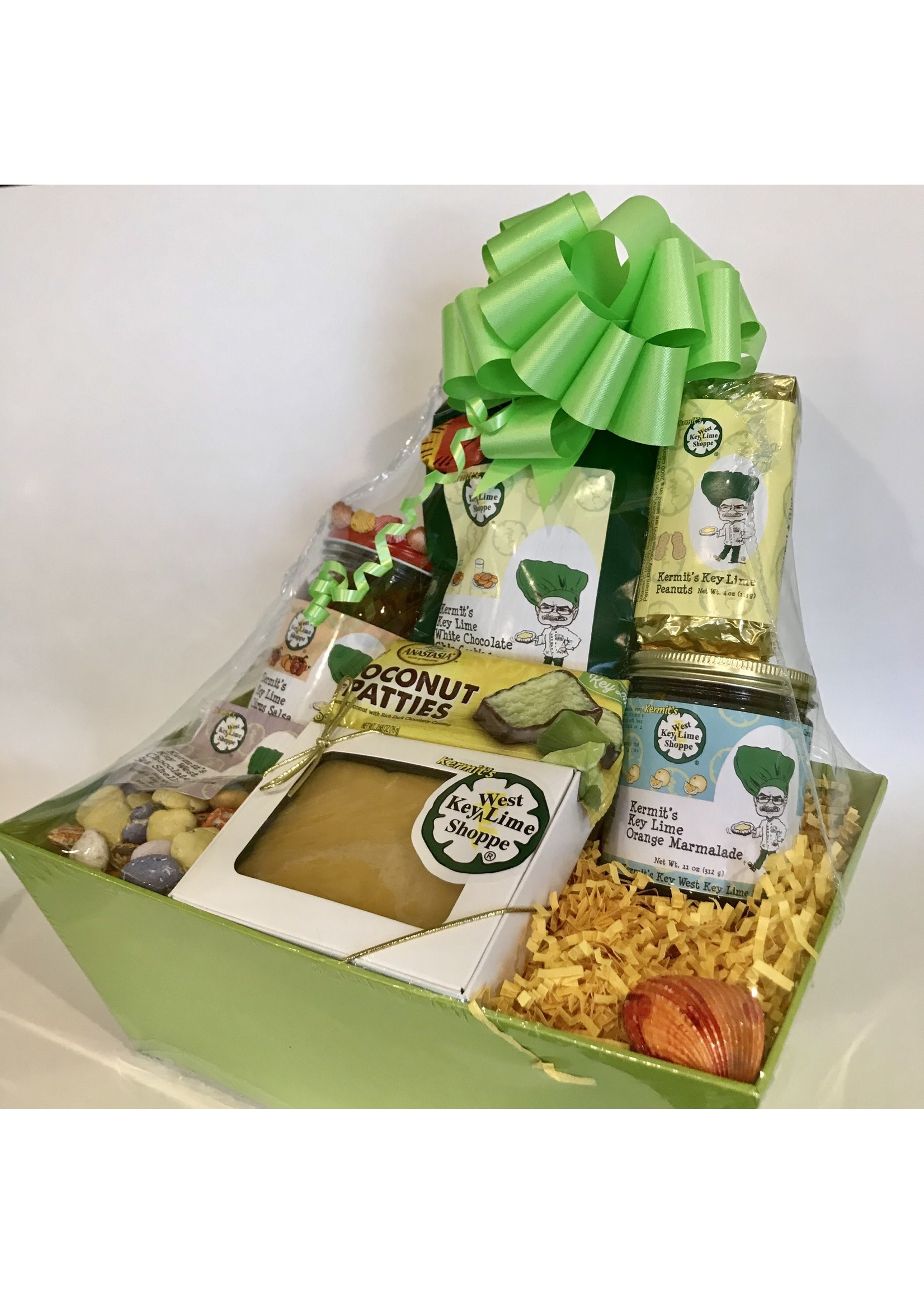 Kermit's Poinciana Gift Basket