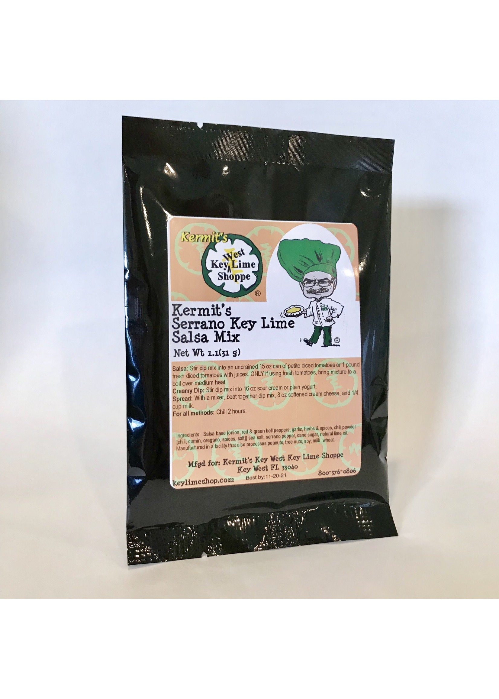 Key Lime Serrano Salsa Mix 1.9 oz