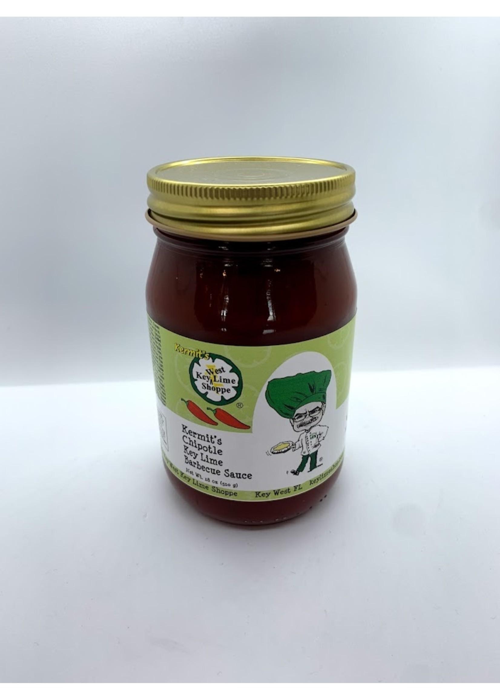 Kermit's Chipotle Key Lime Barbecue Sauce 18 oz.