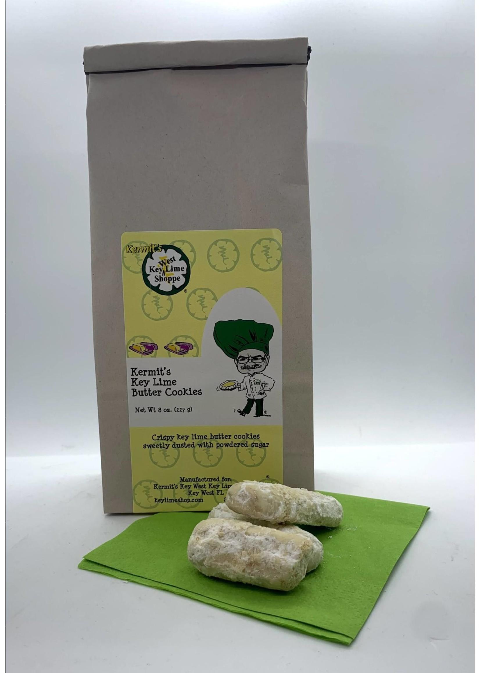 Kermit's Key Lime Butter Cookies 8 oz.