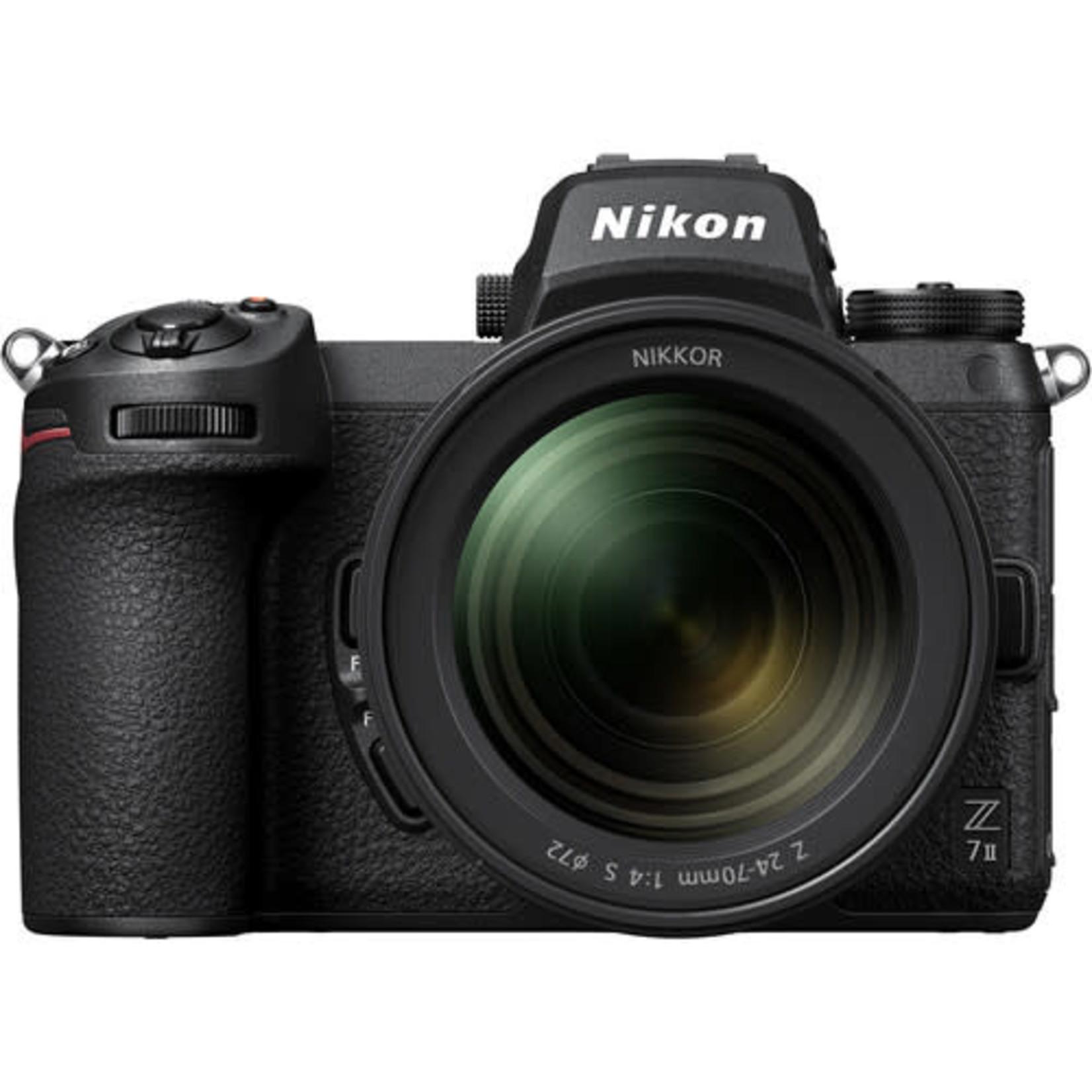 Nikon Nikon Z 7II Mirrorless Digital Camera with 24-70mm f/4 Lens