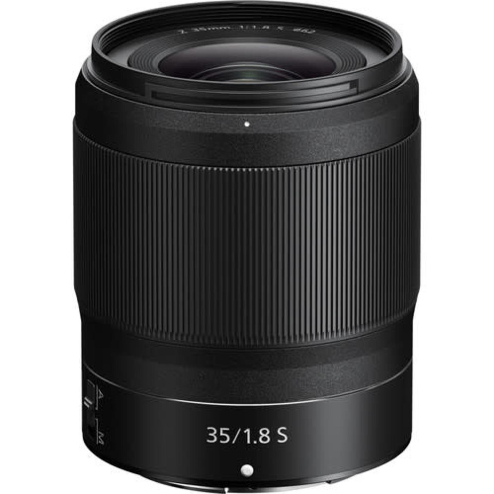 Nikon Nikon NIKKOR Z 35mm f/1.8 S Lens