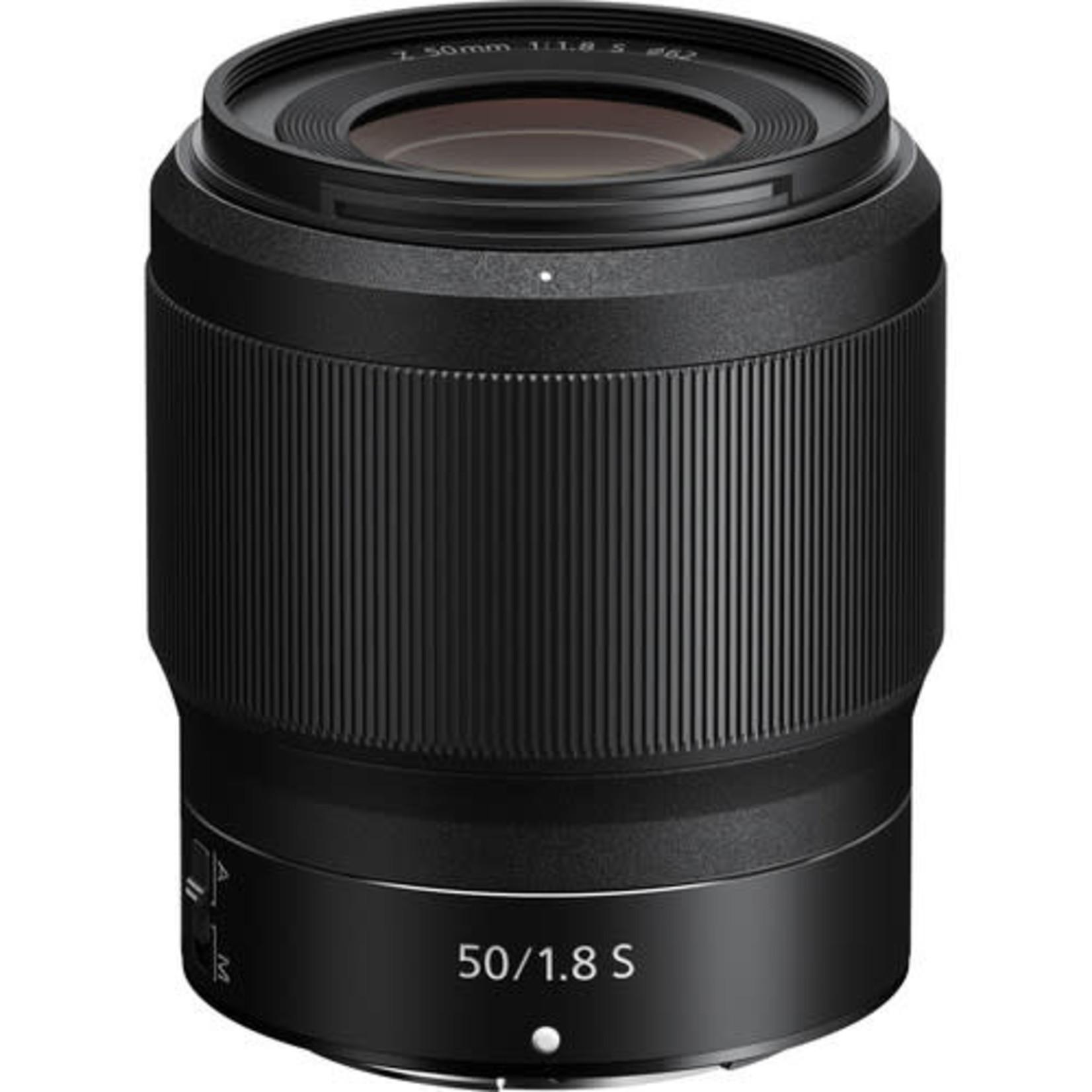 Nikon Nikon NIKKOR Z 50mm f/1.8 S Lens