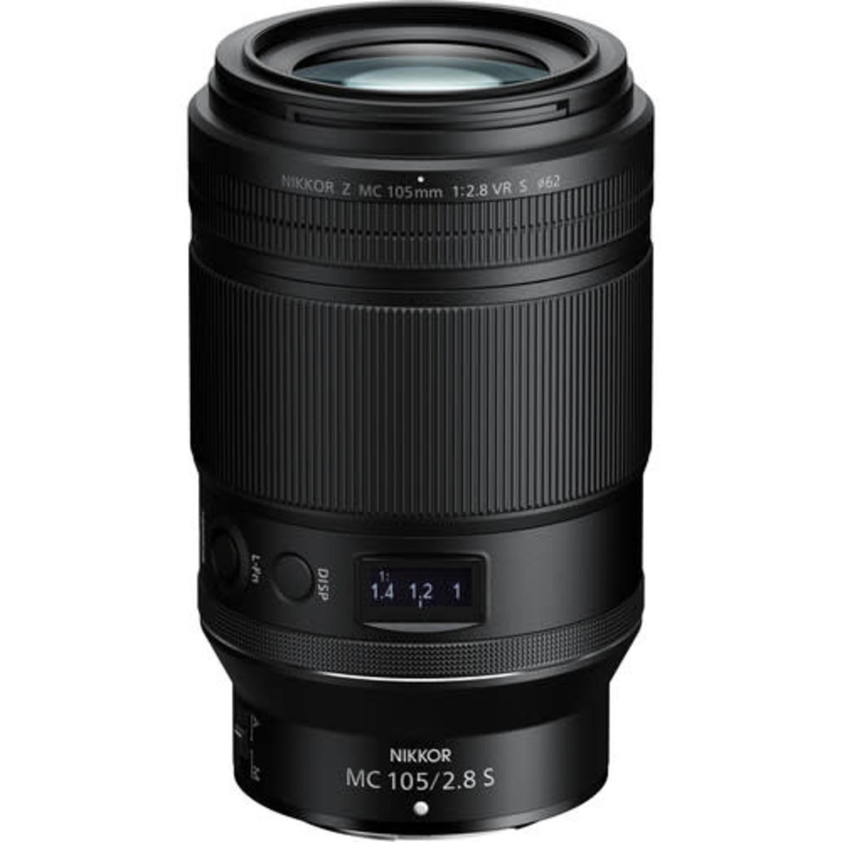 Nikon Nikon NIKKOR Z MC 105mm f/2.8 VR S Macro Lens