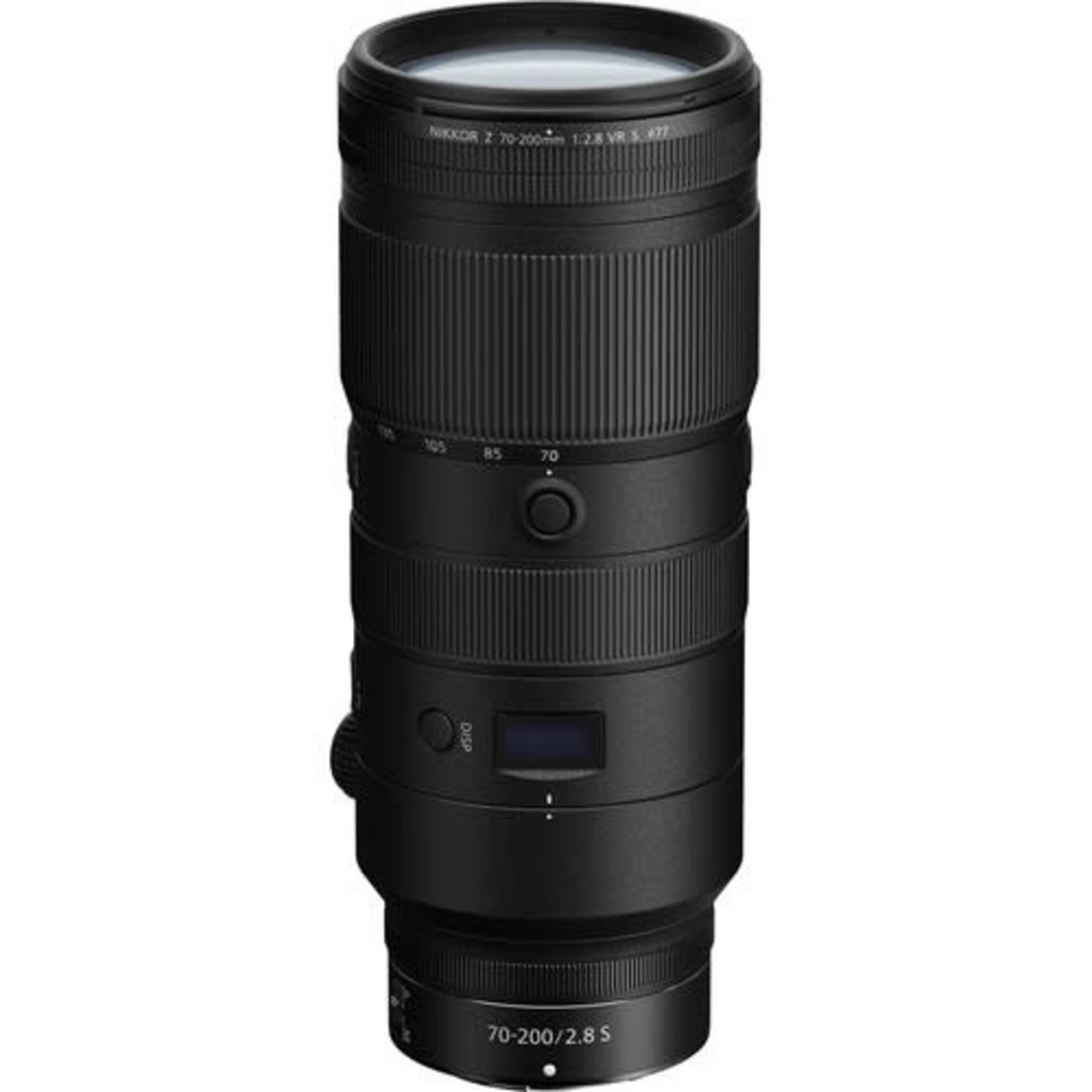 Nikon Nikon NIKKOR Z 70-200mm f/2.8 VR S Lens