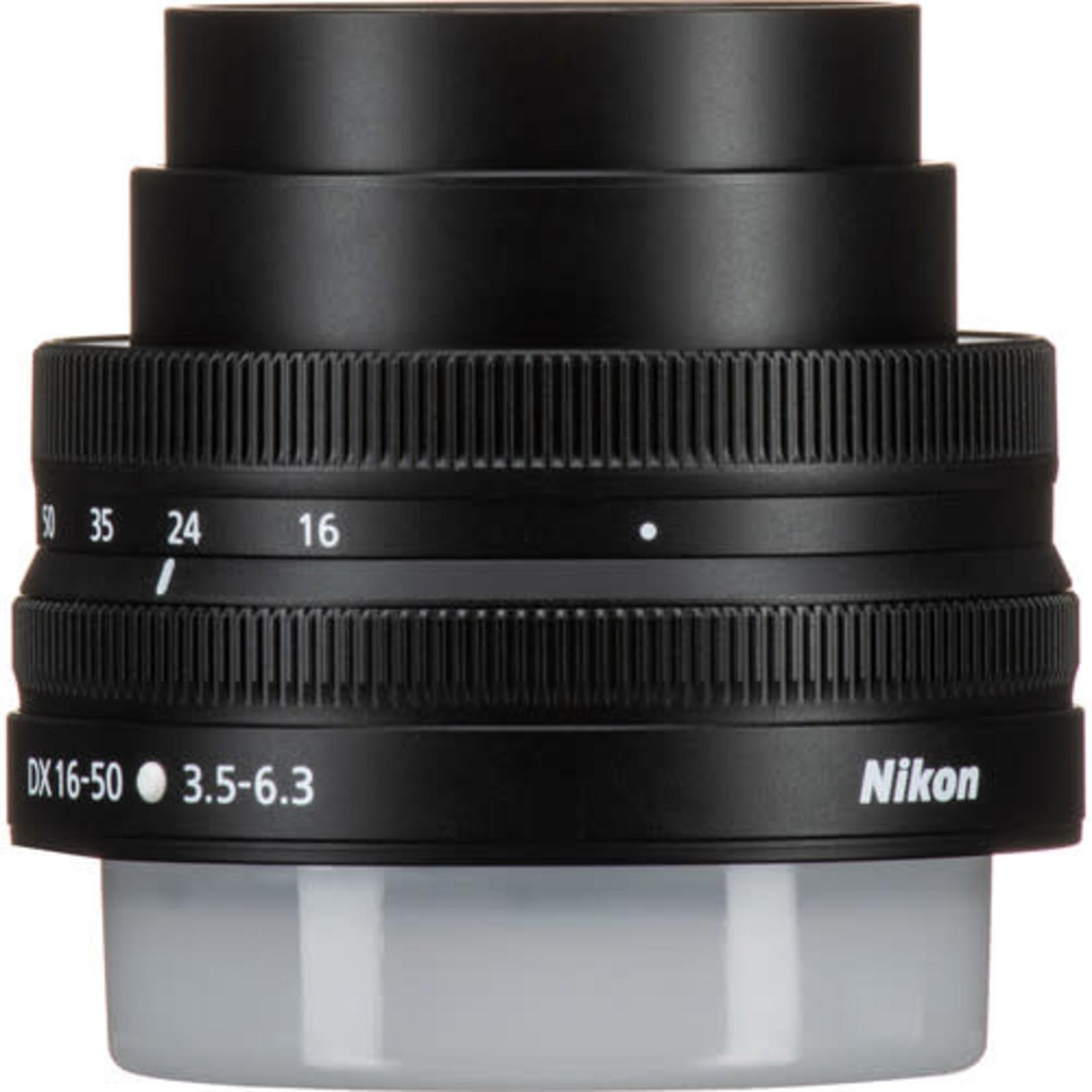 Nikon Nikon NIKKOR Z DX 16-50mm f/3.5-6.3 VR Lens