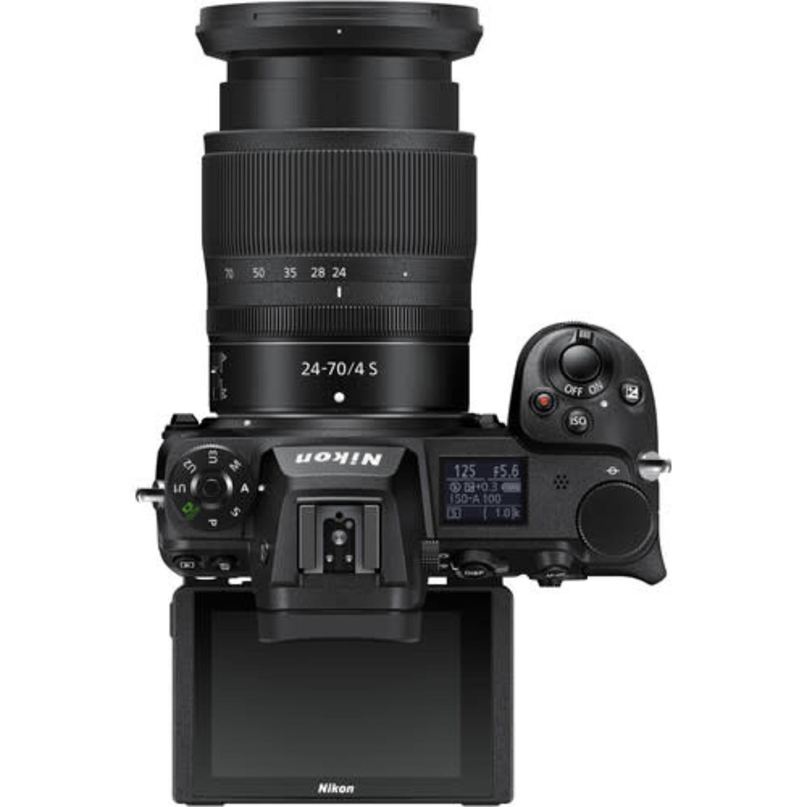Nikon Nikon Z 6II Mirrorless Digital Camera w/ 24-70mm f/4 Lens