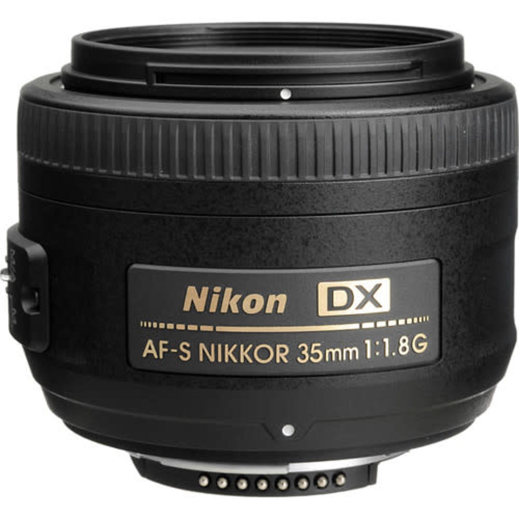 Nikon Nikon AF-S DX NIKKOR 35mm f/1.8G Lens