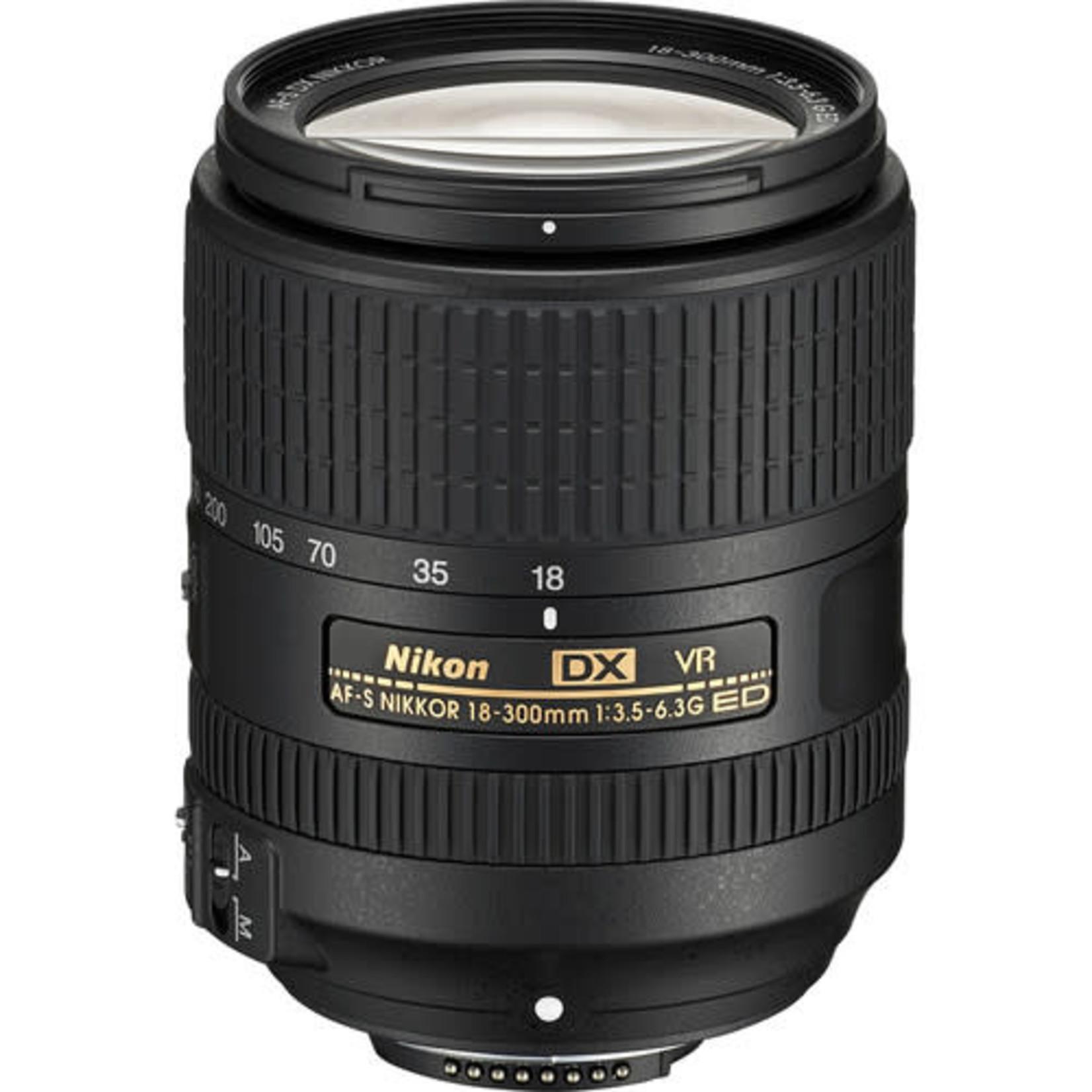 Nikon Nikon AF-S DX NIKKOR 18-300mm f/3.5-6.3G ED VR Lens