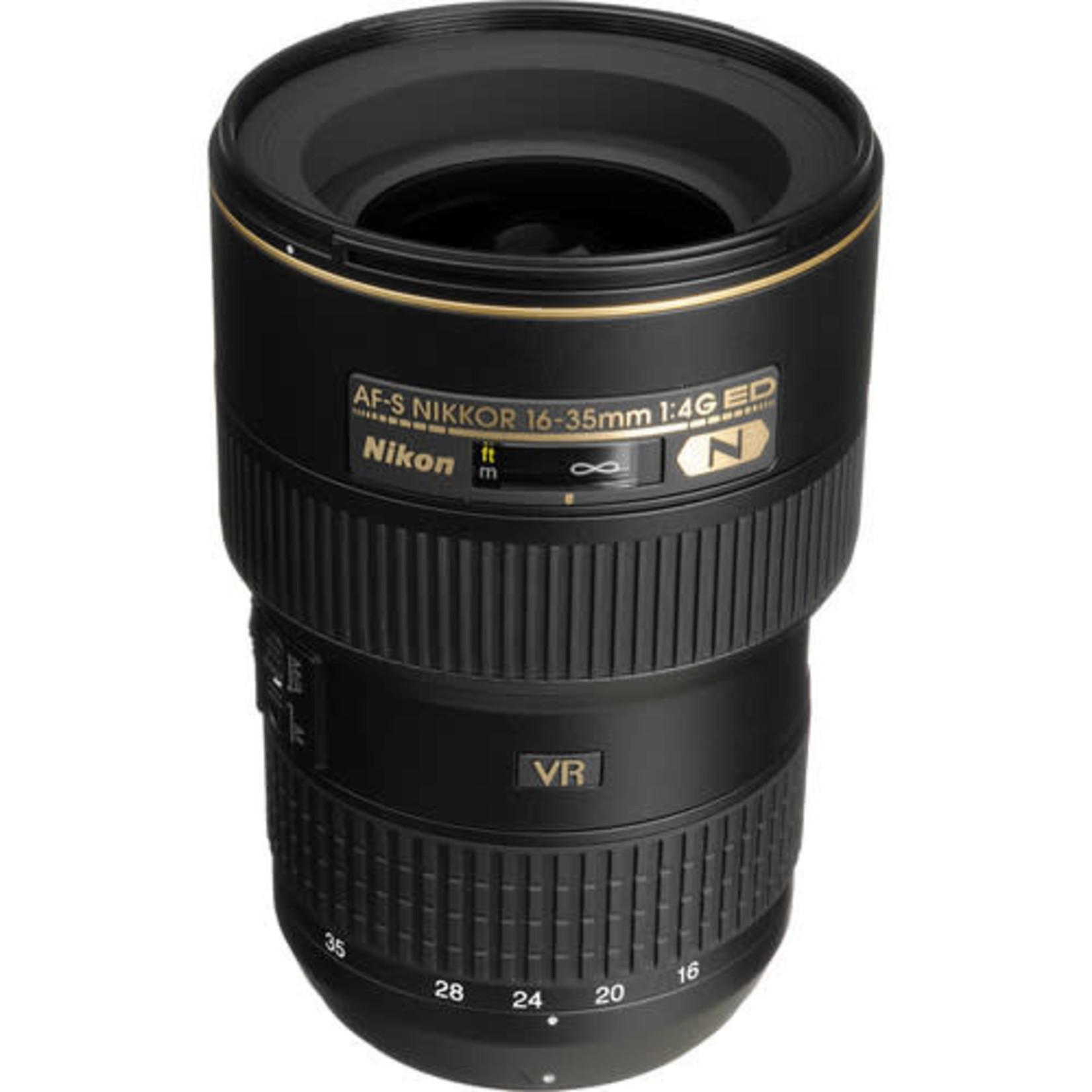 Nikon Nikon AF-S NIKKOR 16-35mm f/4G ED VR Lens