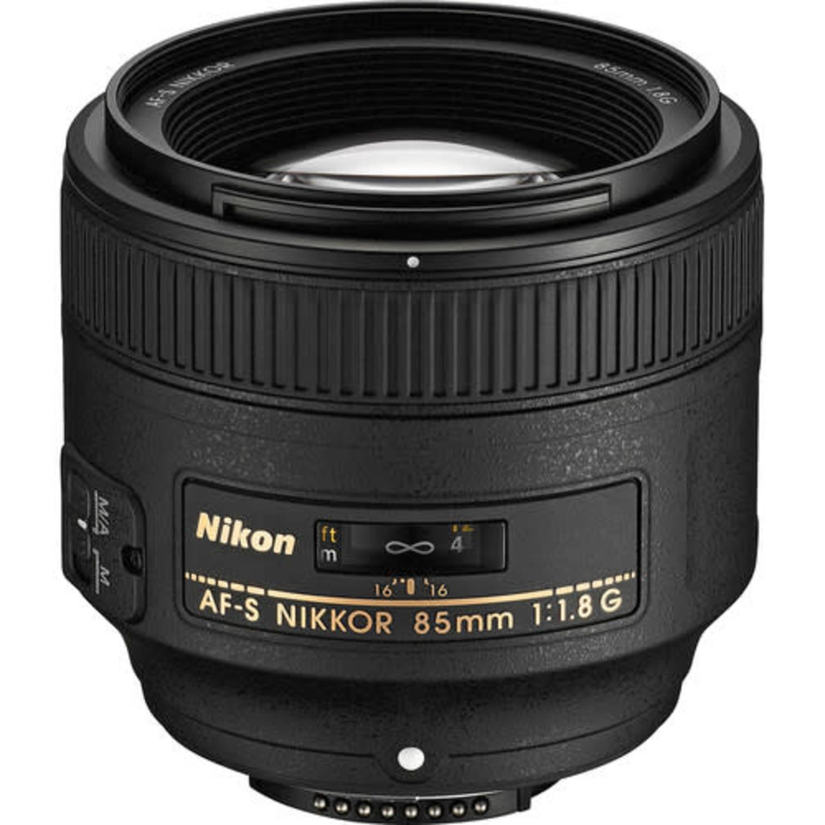 Nikon Nikon AF-S NIKKOR 85mm f/1.8G Lens