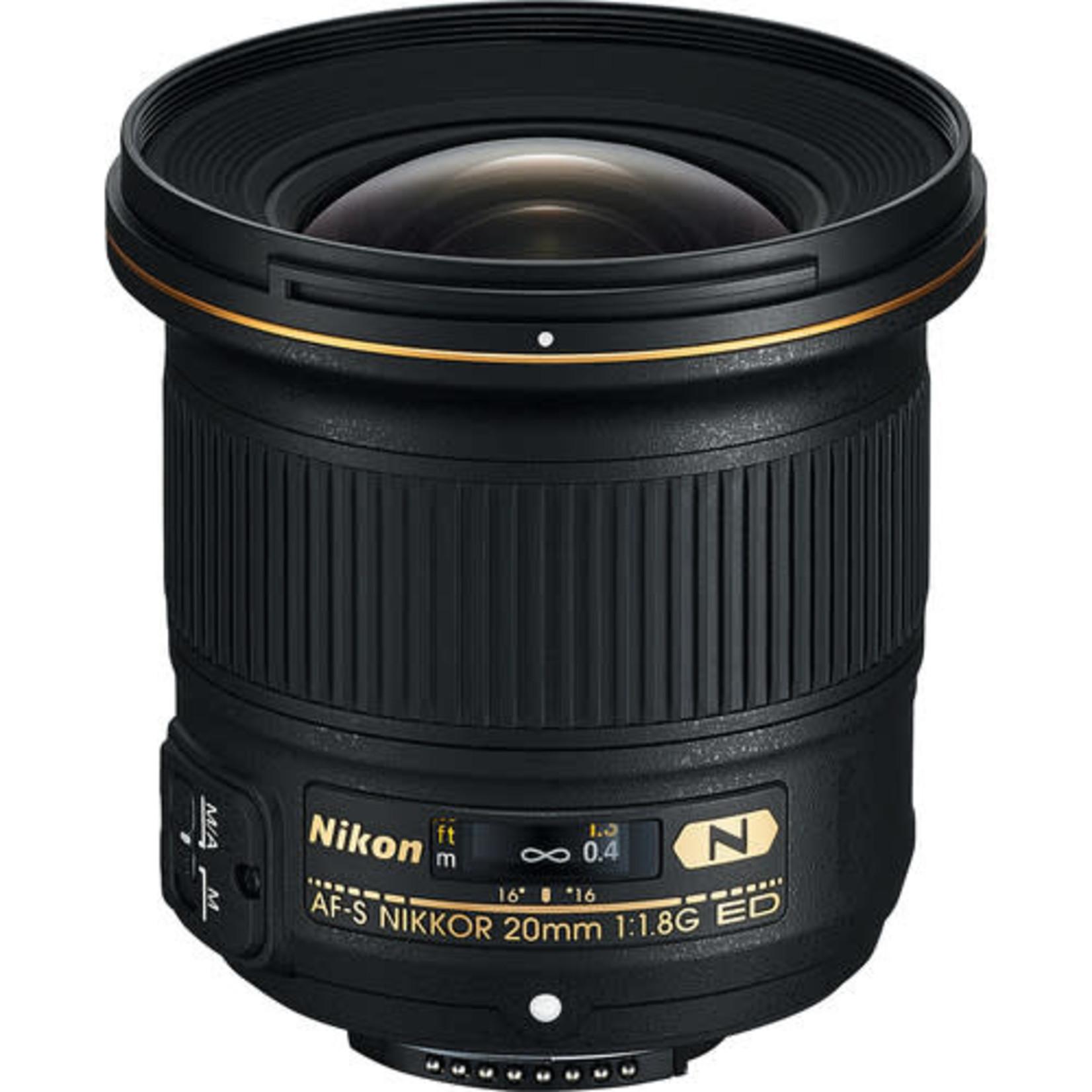 Nikon Nikon AF-S NIKKOR 20mm f/1.8G ED Lens