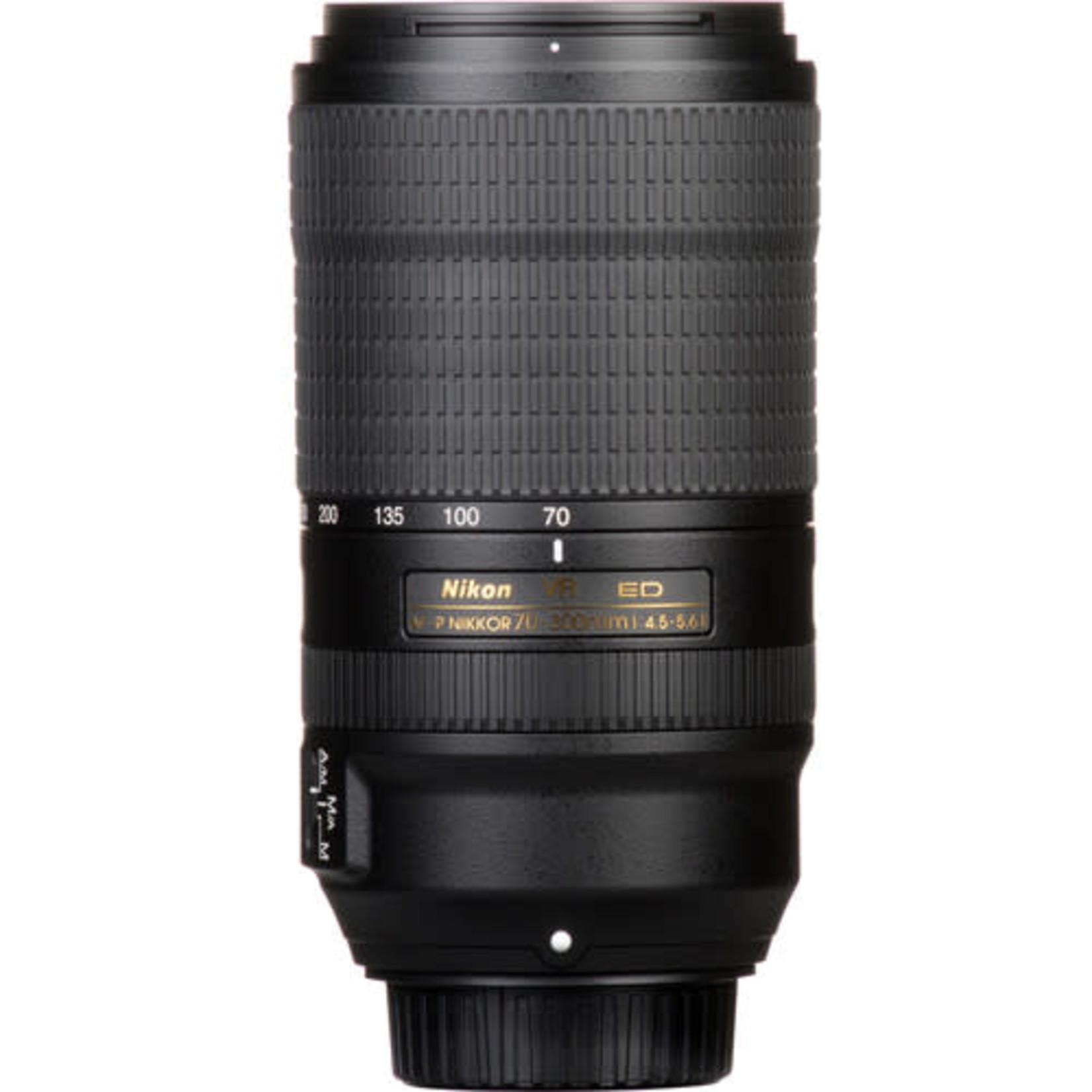 Nikon Nikon AF-P NIKKOR 70-300mm f/4.5-5.6E ED VR Lens
