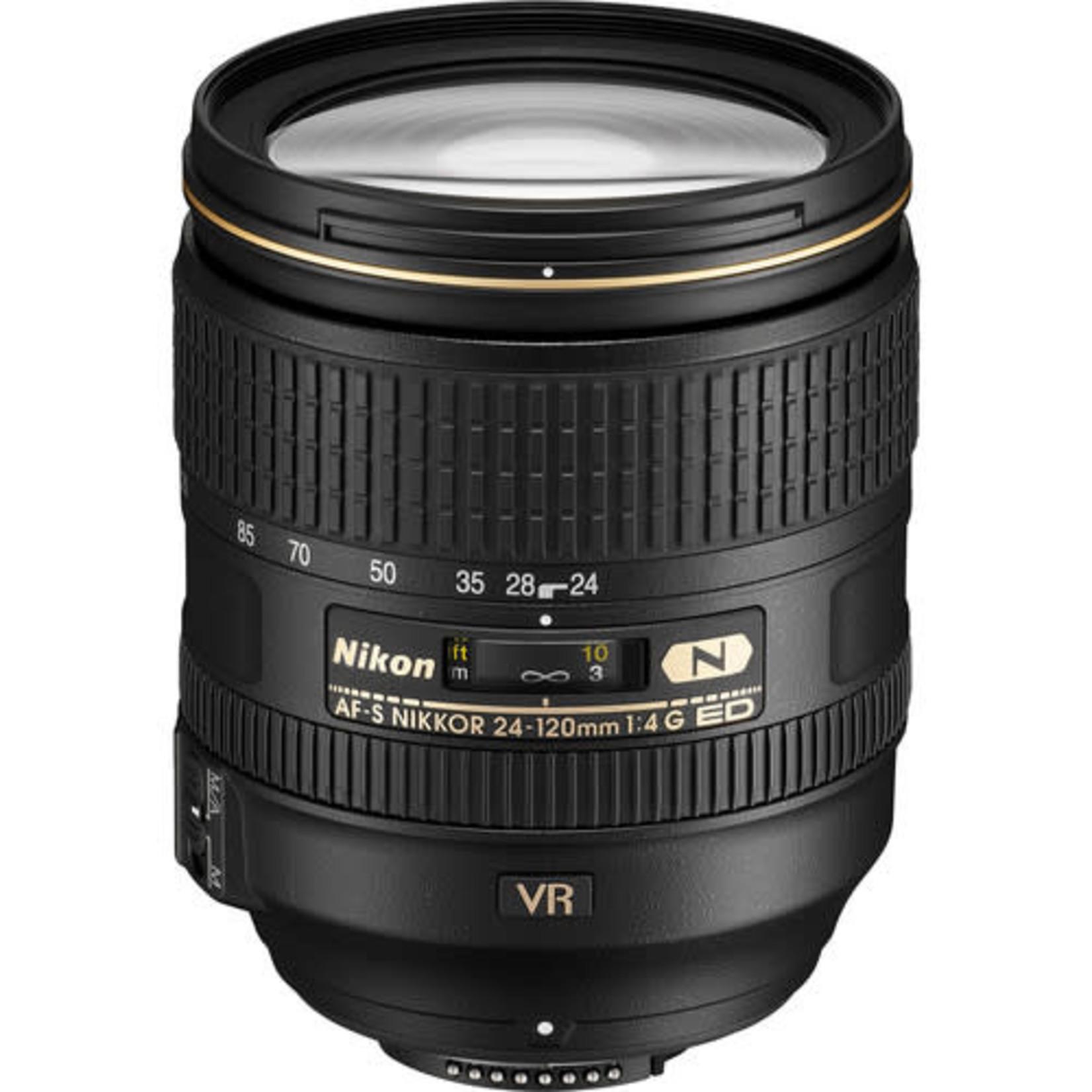 Nikon Nikon AF-S NIKKOR 24-120mm f/4G ED VR Lens