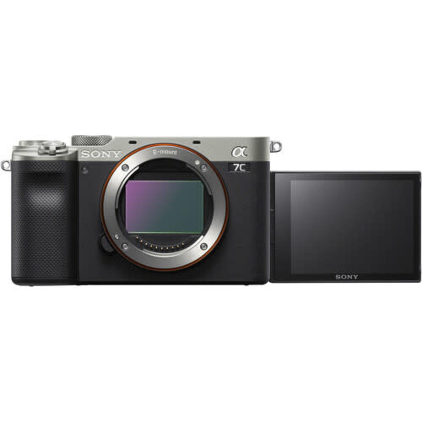 Sony Sony Alpha a7C Mirrorless Digital Camera (Body Only, Silver)