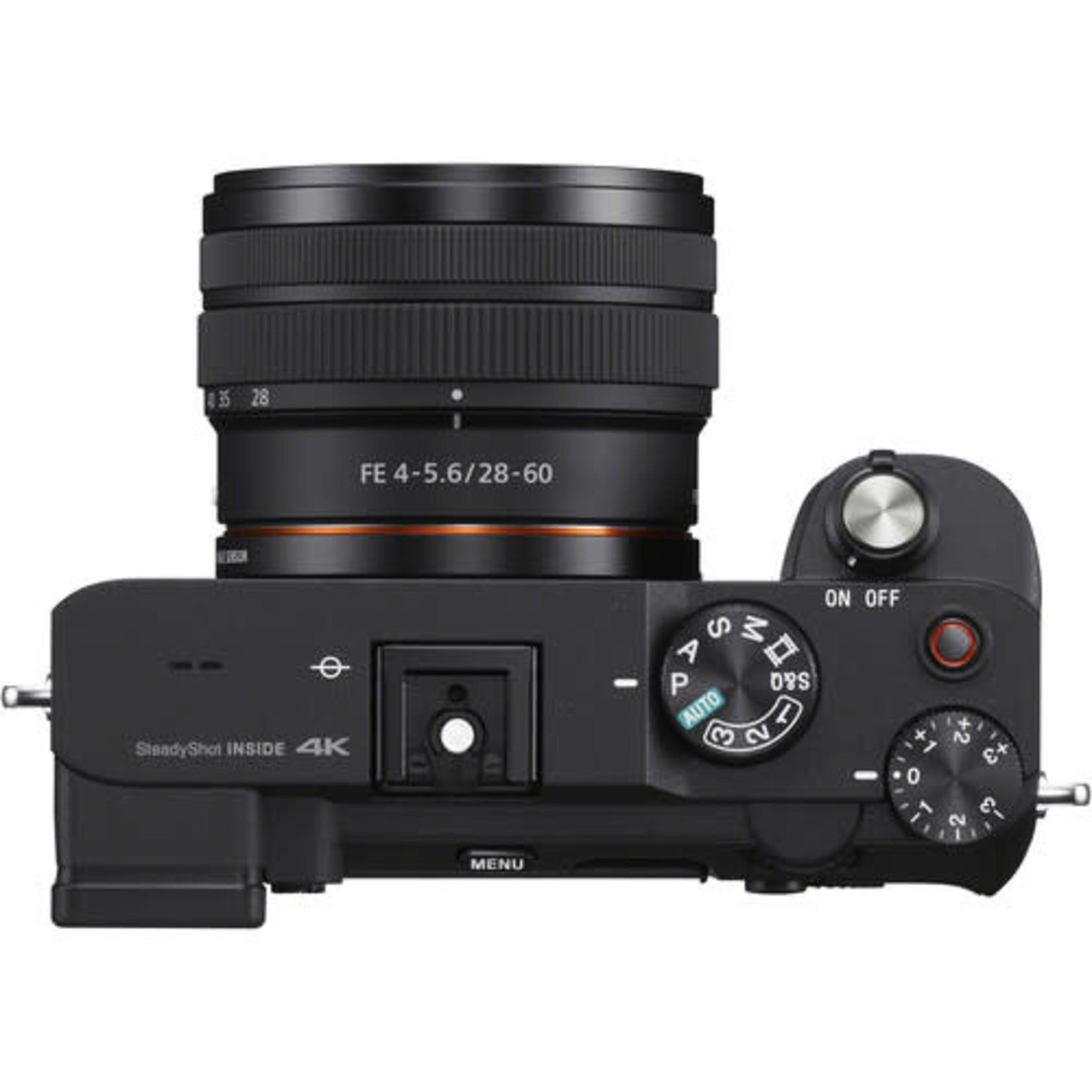 Sony Sony Alpha a7C Mirrorless Digital Camera with 28-60mm Lens (Black)