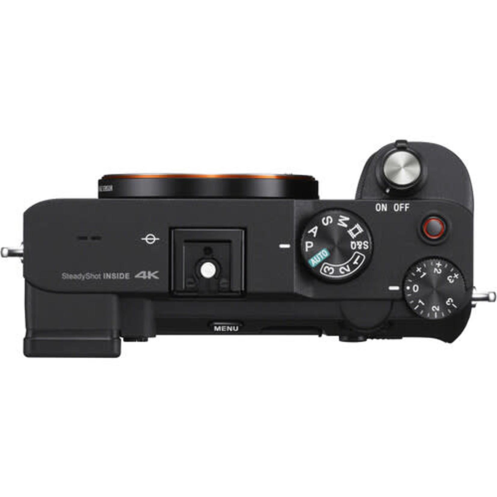Sony Sony Alpha a7C Mirrorless Digital Camera (Body Only, Black)