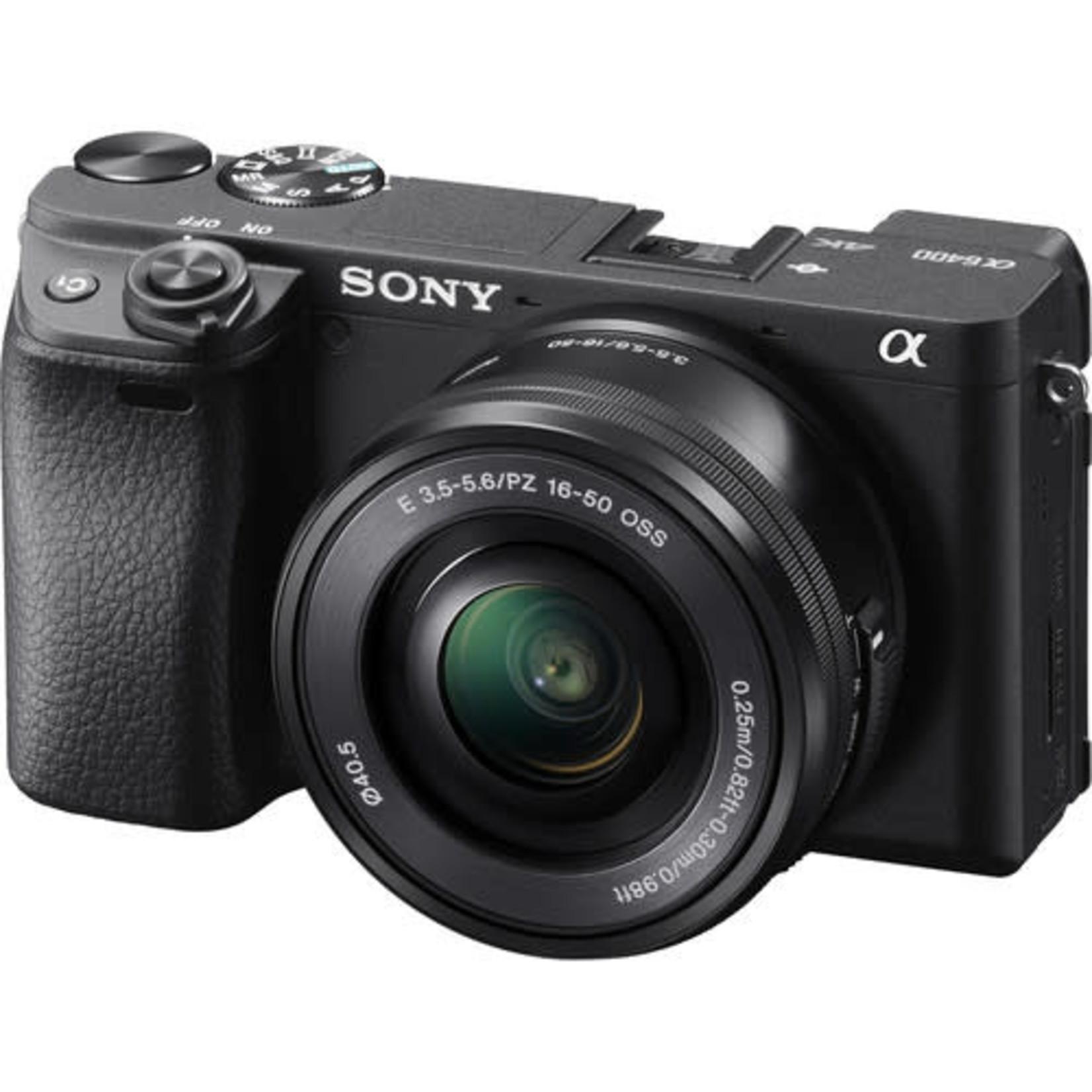 Sony Sony Alpha a6400 Mirrorless Digital Camera with 16-50mm Lens