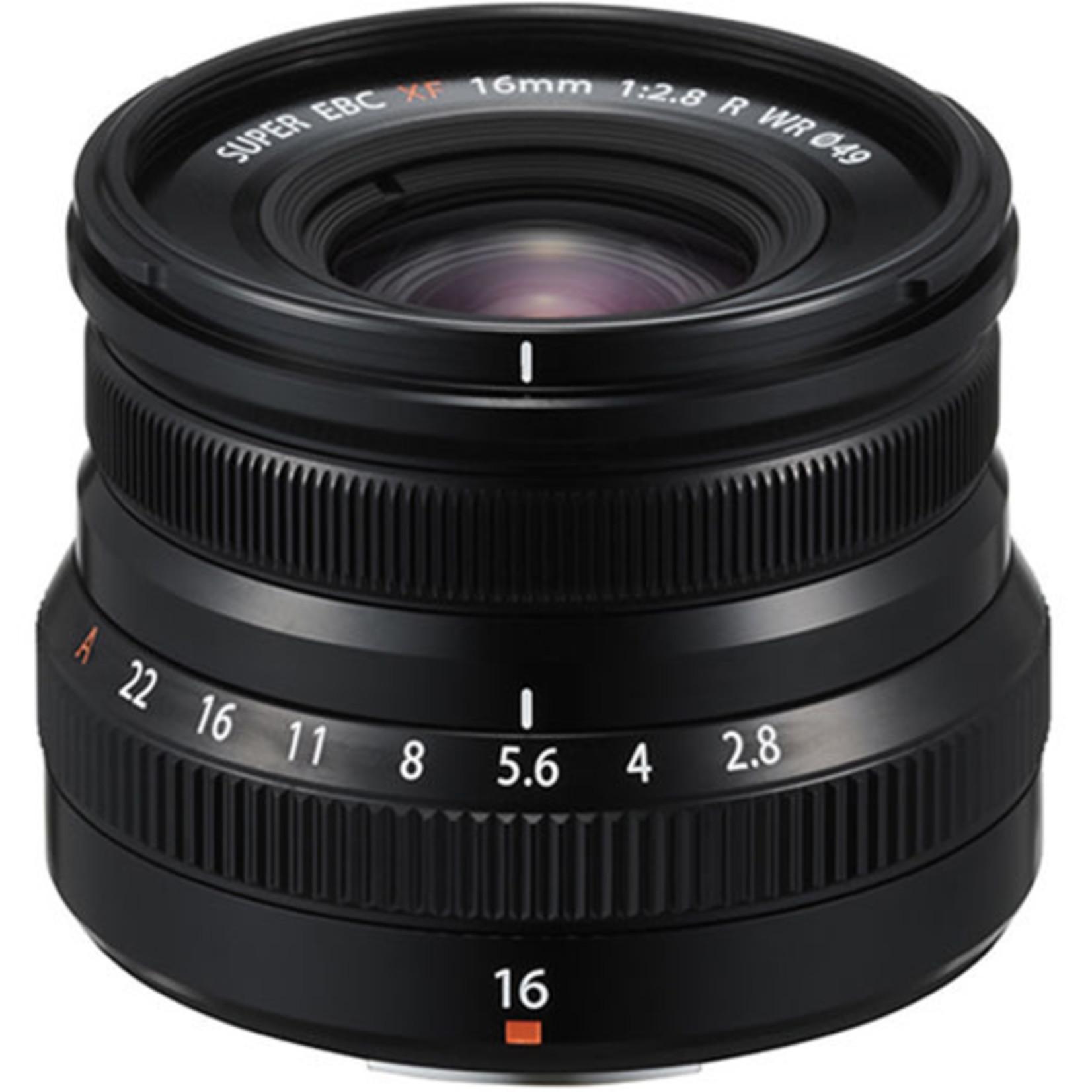 FujiFilm FujiFilm XF 16mm 2.8 R WR Lens