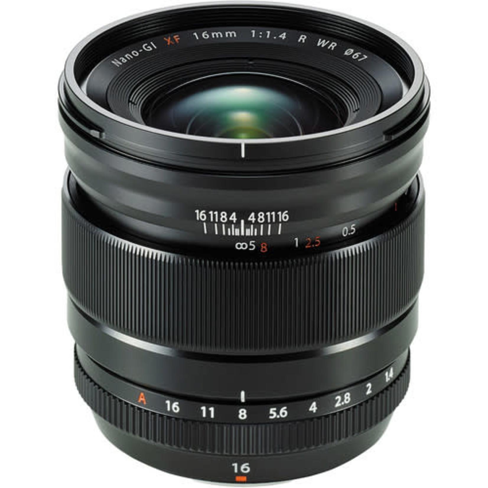 FujiFilm FujiFilm XF 16mm f/1.4 R WR Lens